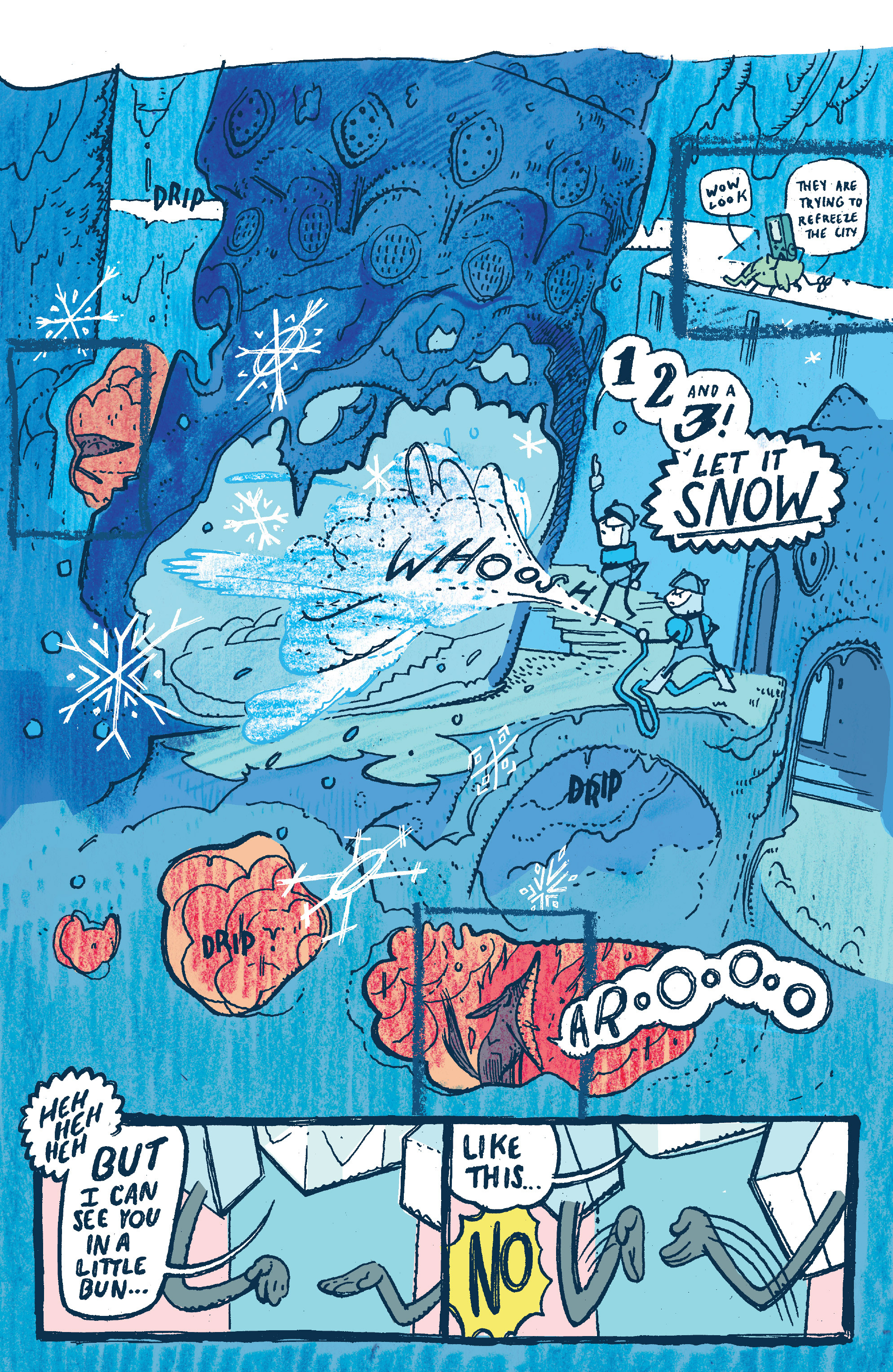Read online Adventure Time 2014 Winter Special comic -  Issue #Adventure Time 2014 Winter Special Full - 16