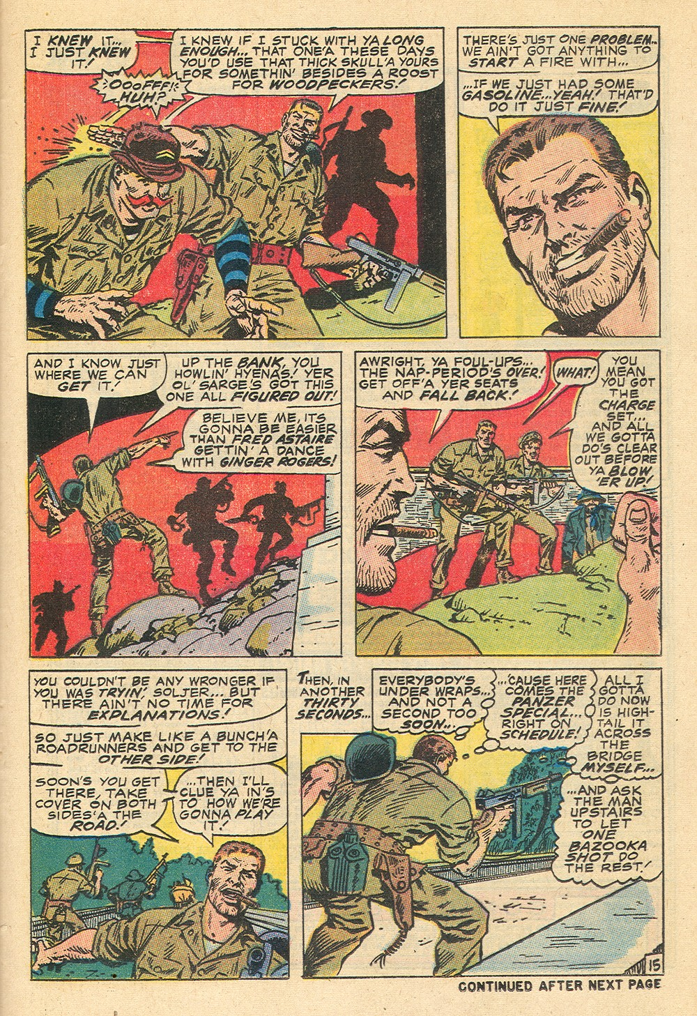Read online Sgt. Fury comic -  Issue #71 - 25