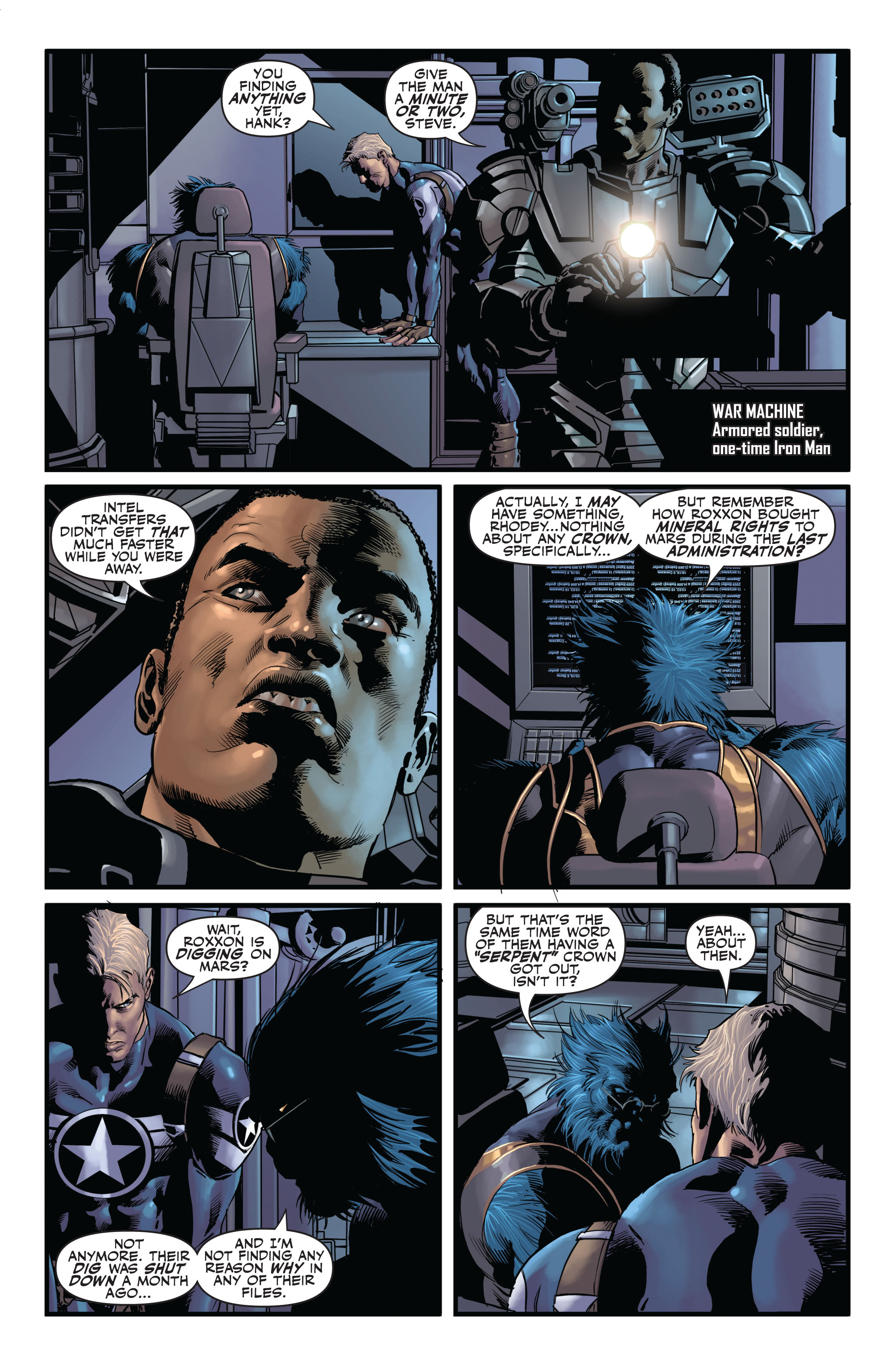 Read online Secret Avengers (2010) comic -  Issue #1 - 17