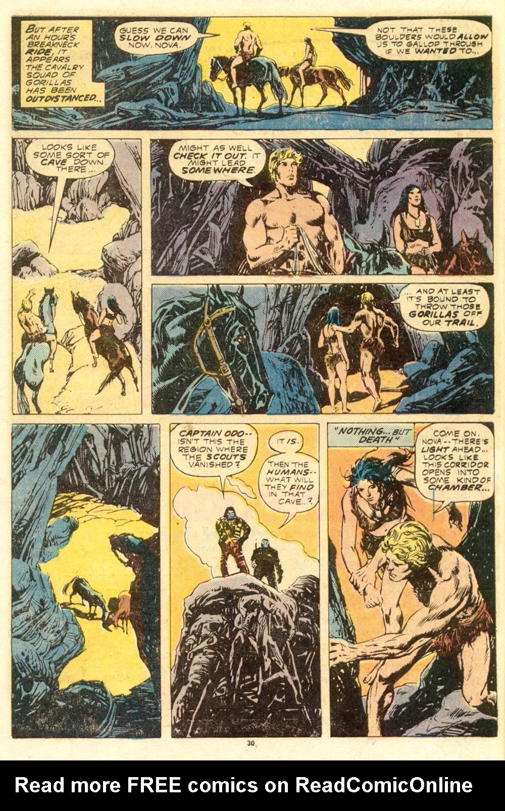 Read online Adventures on the Planet of the Apes comic -  Issue #8 - 18