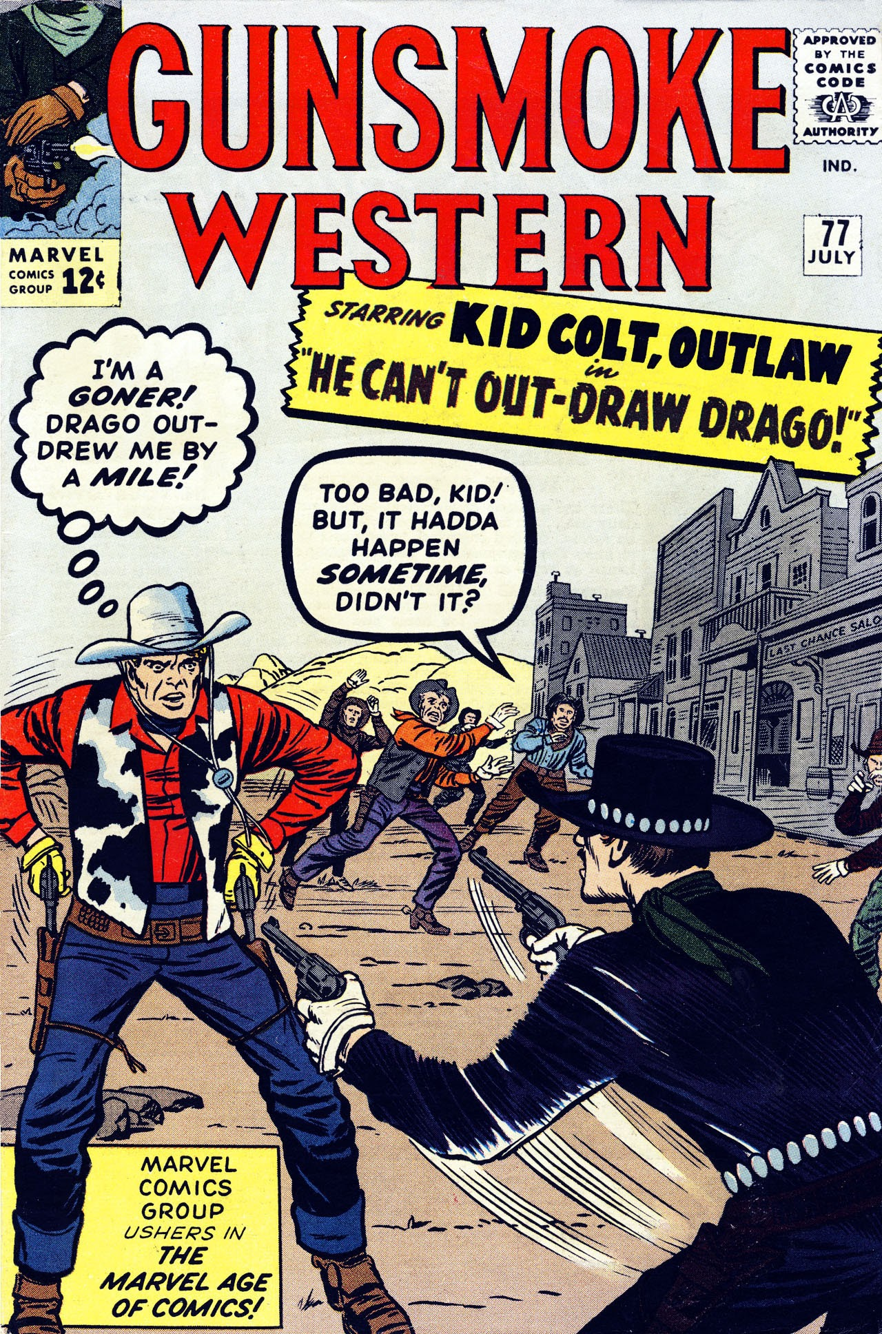 Gunsmoke Western 77 Page 1