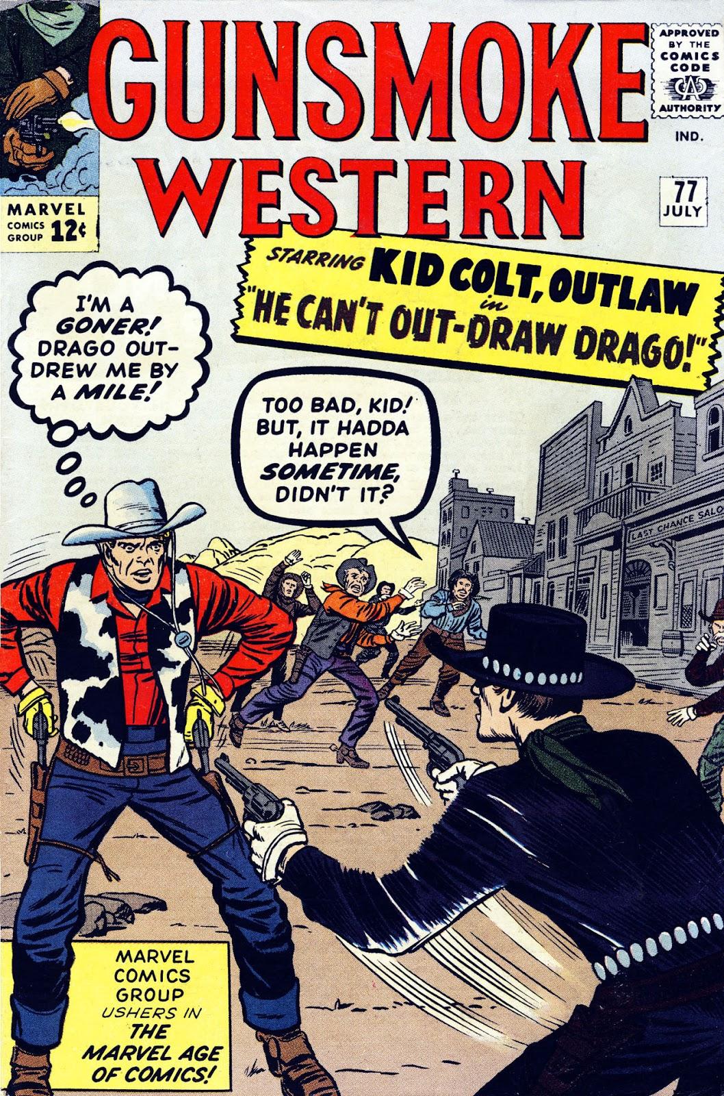 Gunsmoke Western issue 77 - Page 1