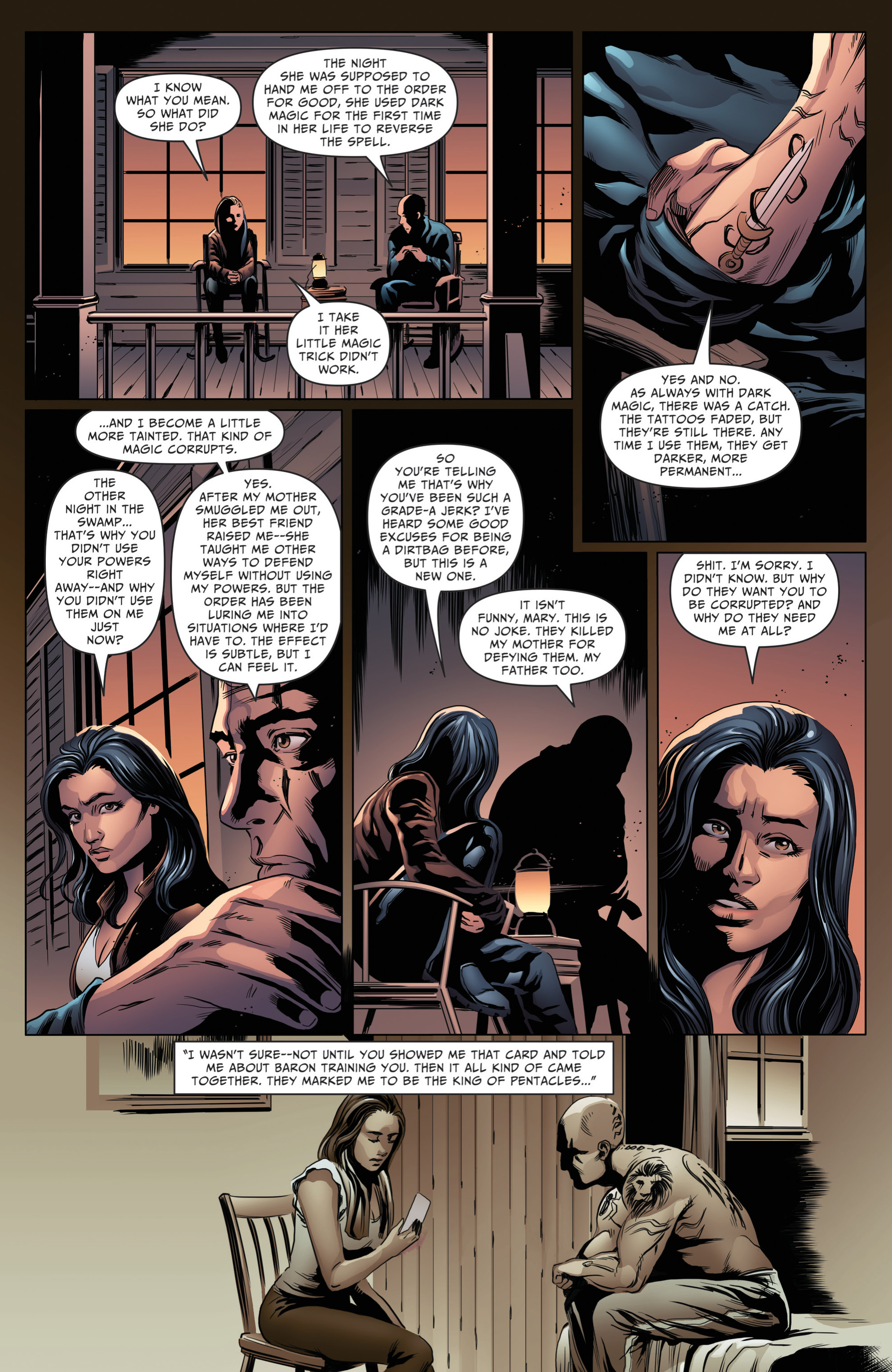Read online Grimm Fairy Tales: Day of the Dead comic -  Issue #4 - 9