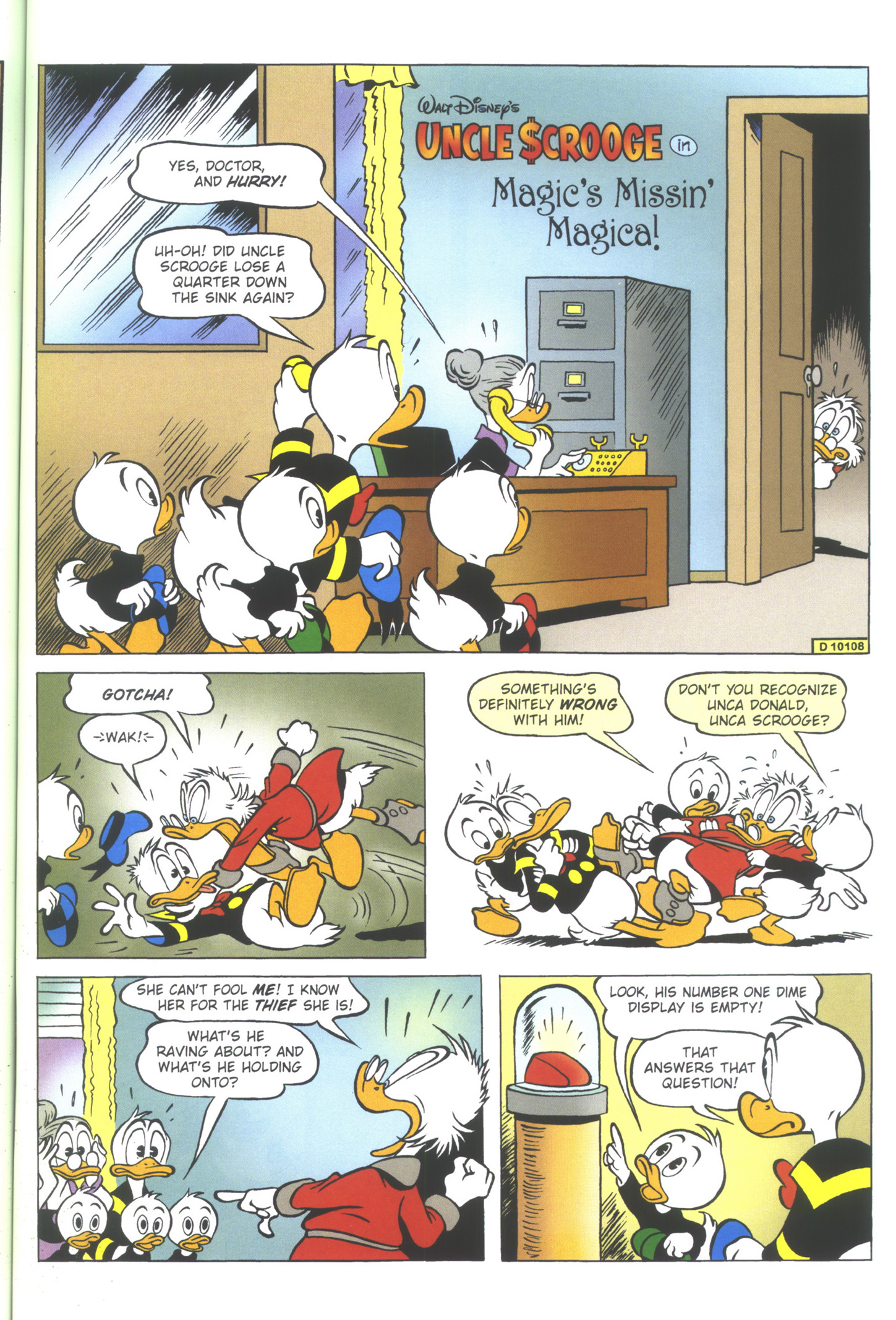 Read online Uncle Scrooge (1953) comic -  Issue #352 - 45