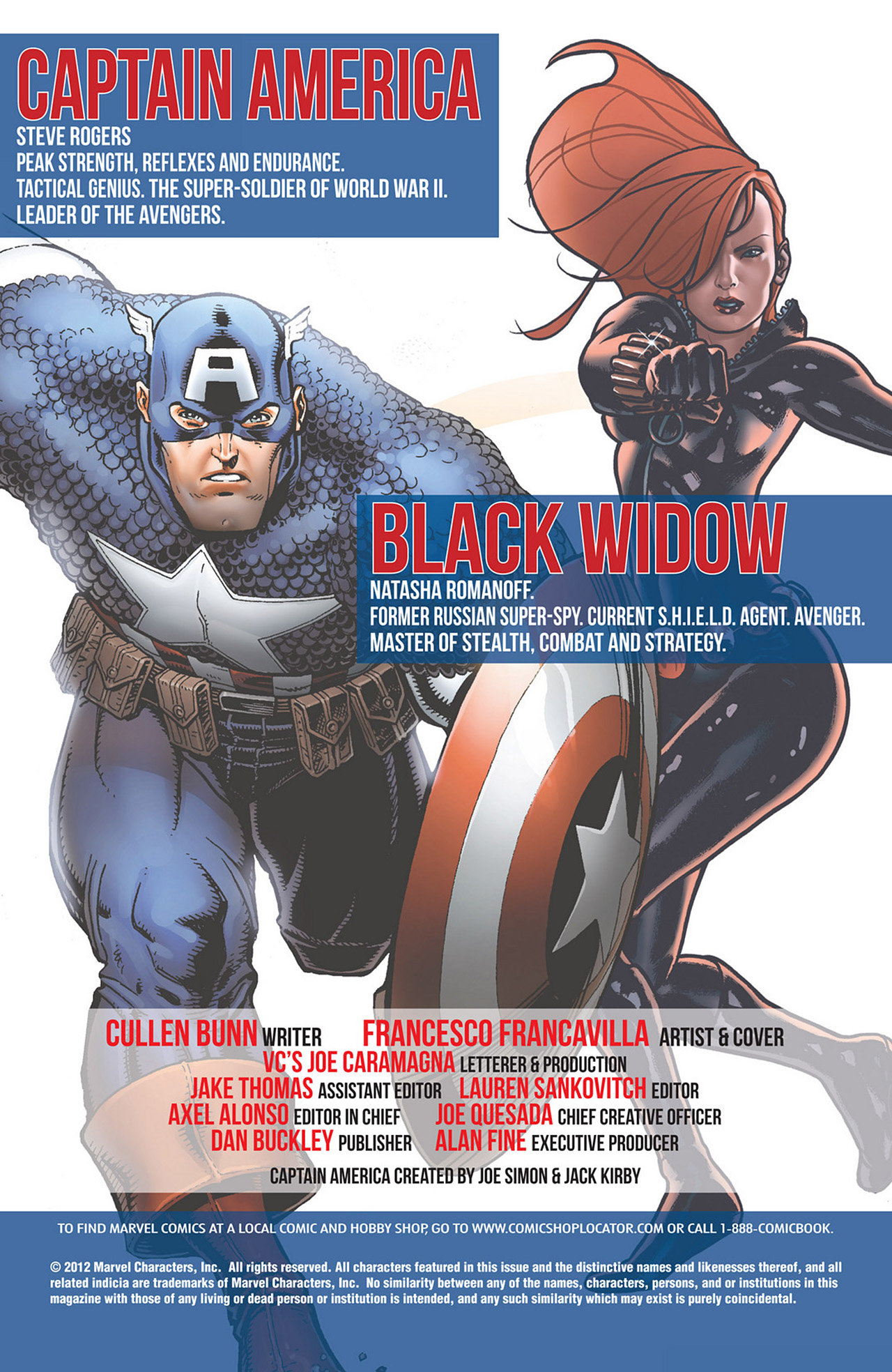 Read online Captain America And Black Widow comic -  Issue #636 - 2