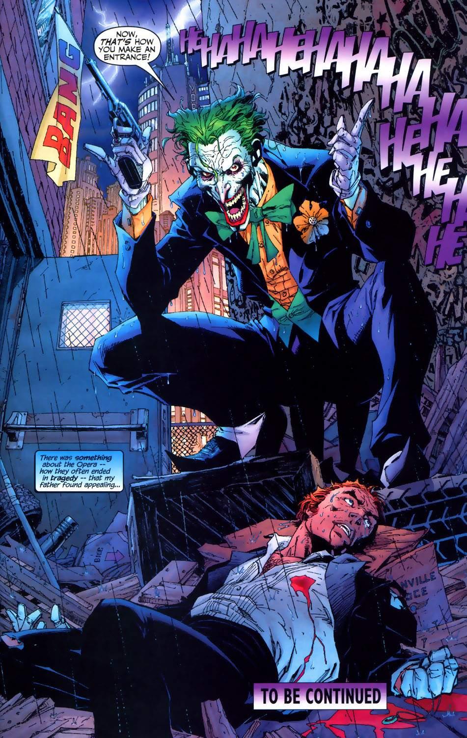 Read online Batman: Hush comic -  Issue #6 - 21