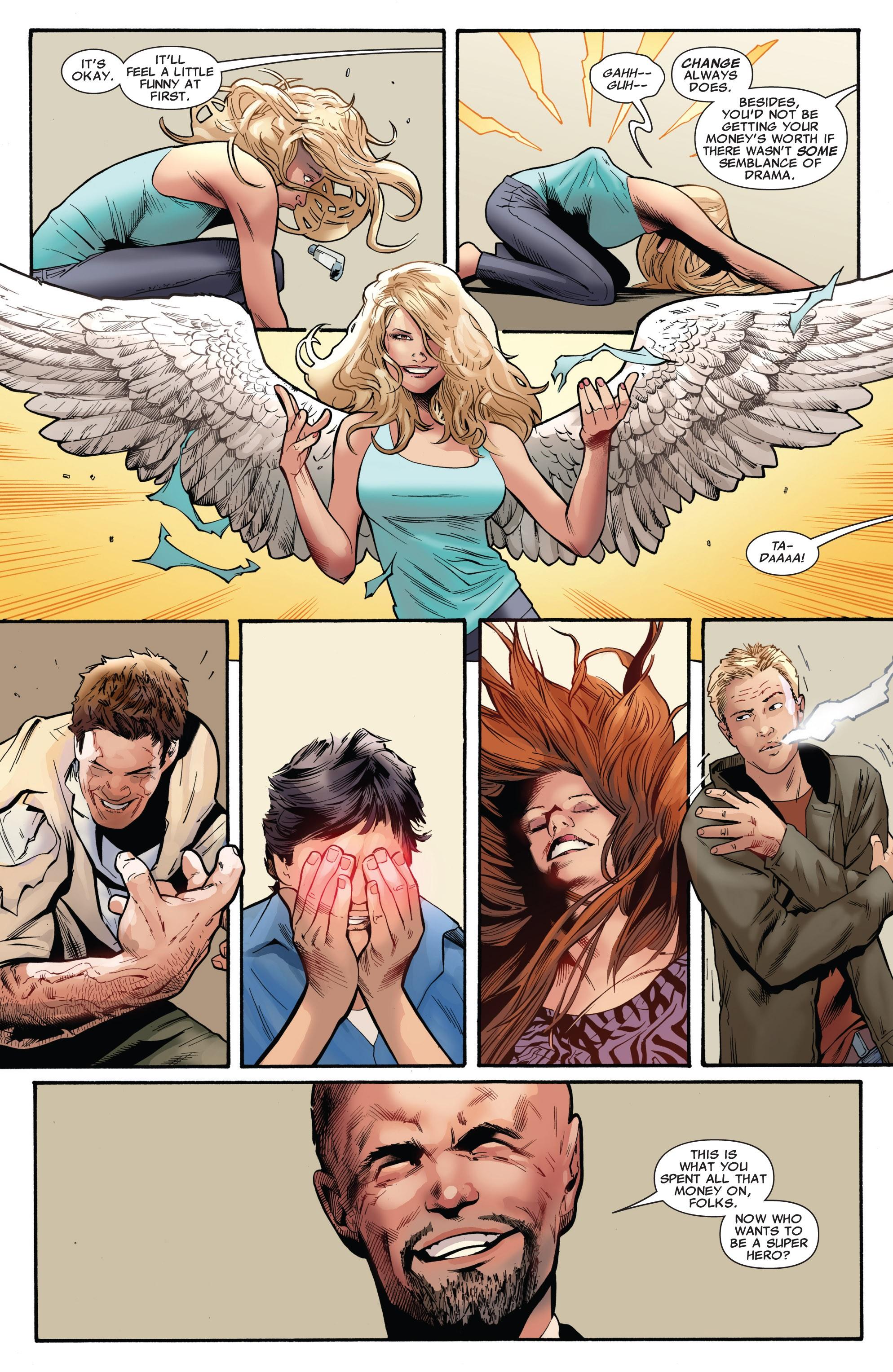 Read online Uncanny X-Men (1963) comic -  Issue #530 - 17