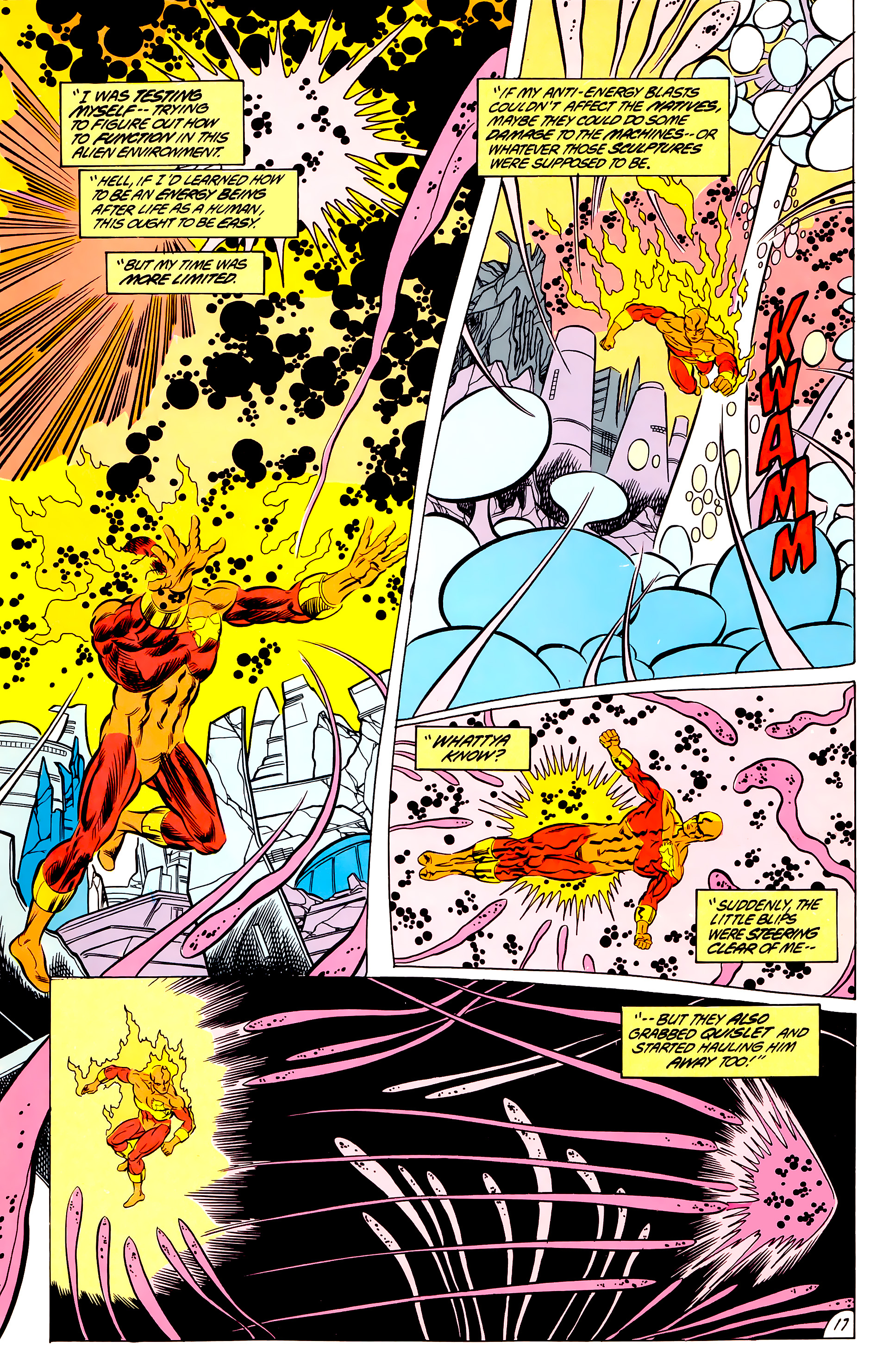 Legion of Super-Heroes (1984) 44 Page 17