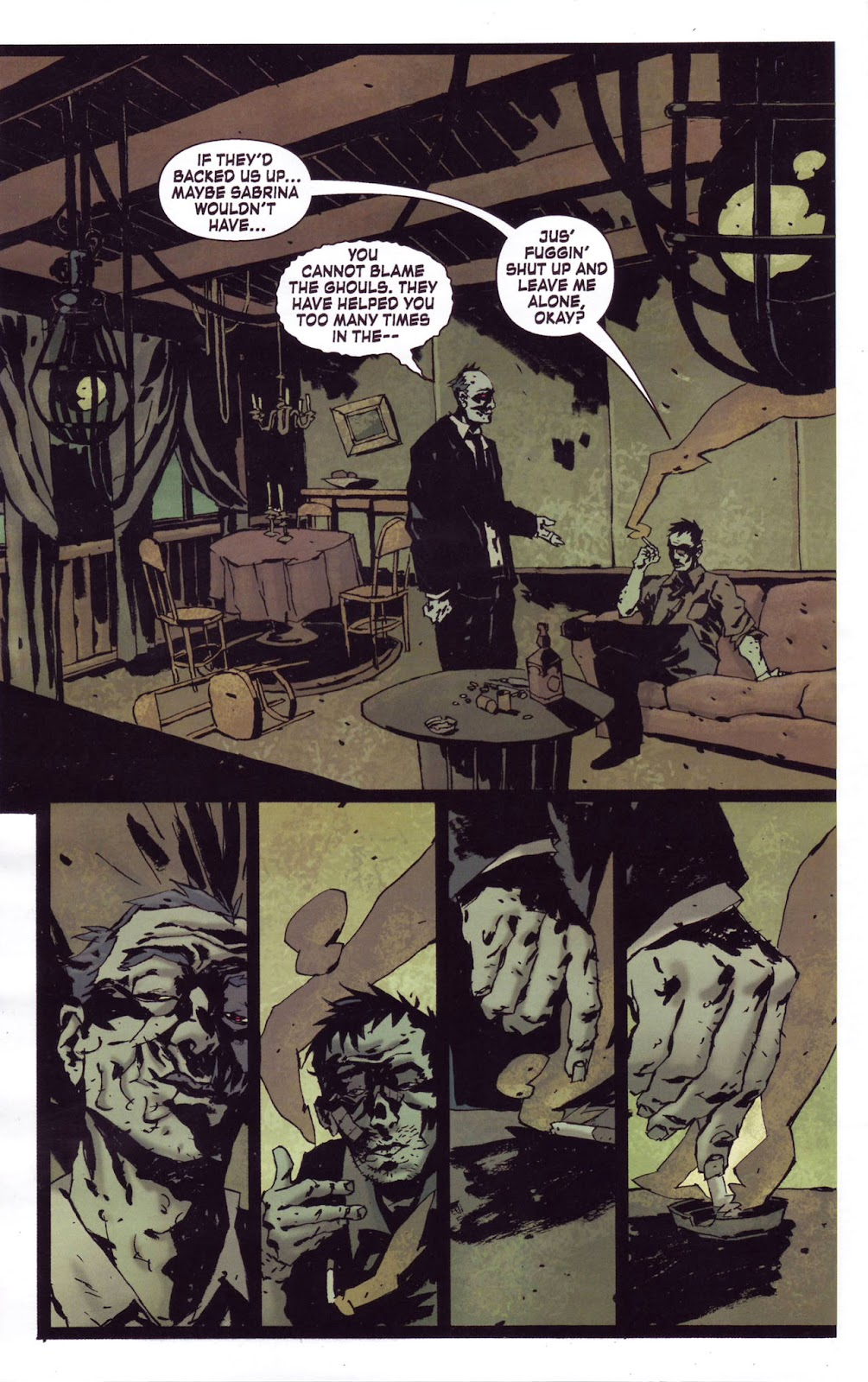Criminal Macabre: My Demon Baby issue 1 - Page 8