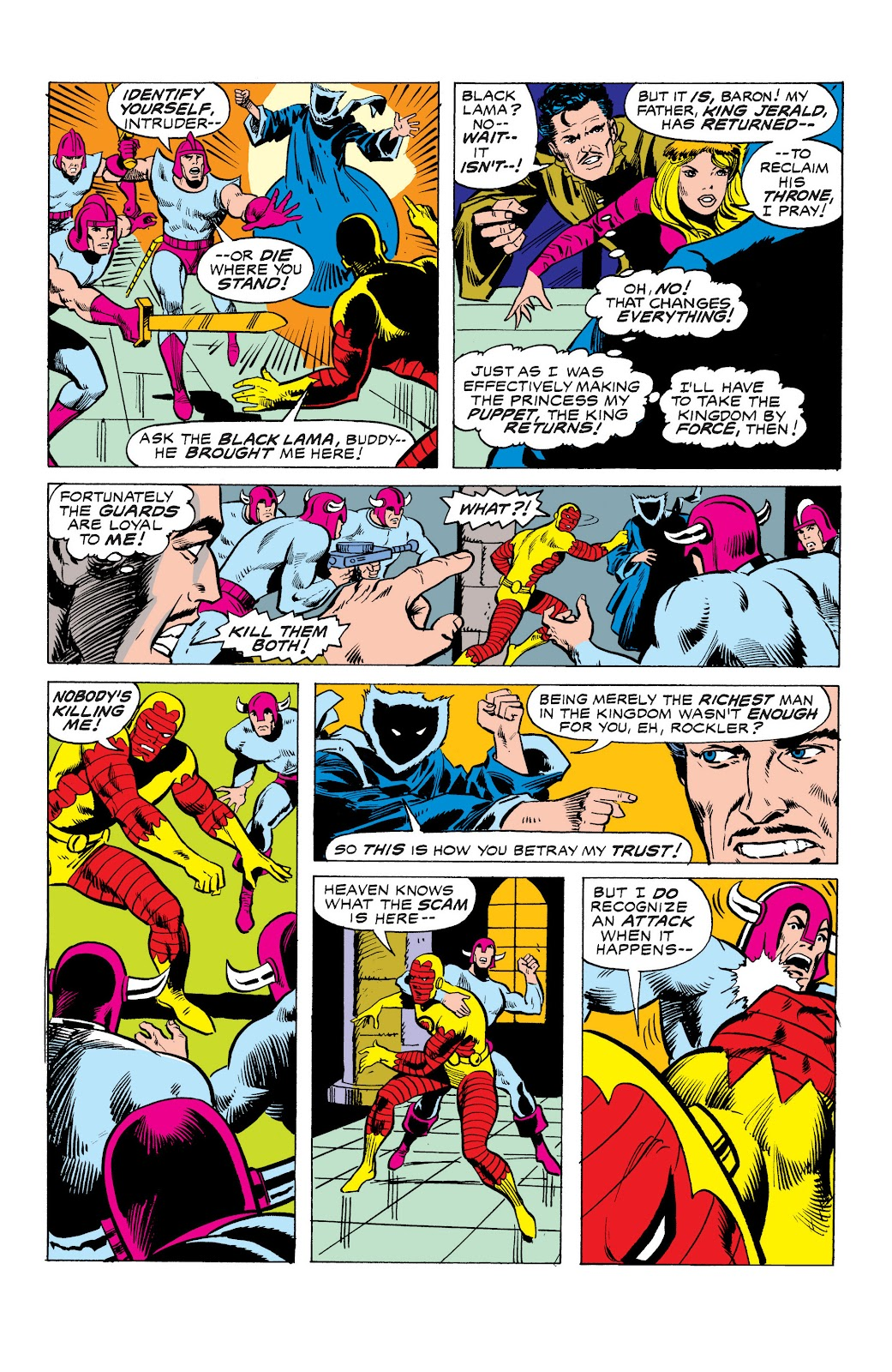 Read online Marvel Masterworks: The Invincible Iron Man comic -  Issue # TPB 10 (Part 3) - 18