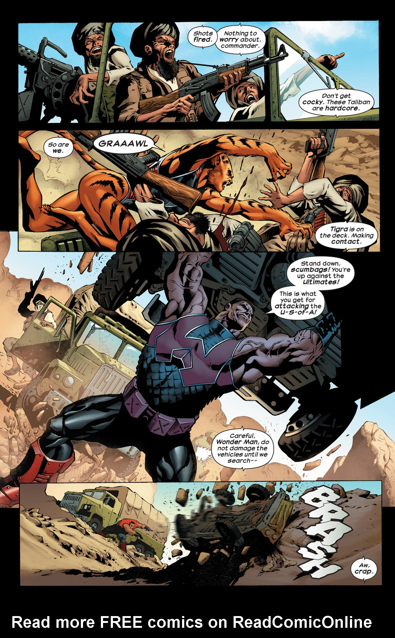 Read online Ultimate Comics Ultimates comic -  Issue #22 - 4