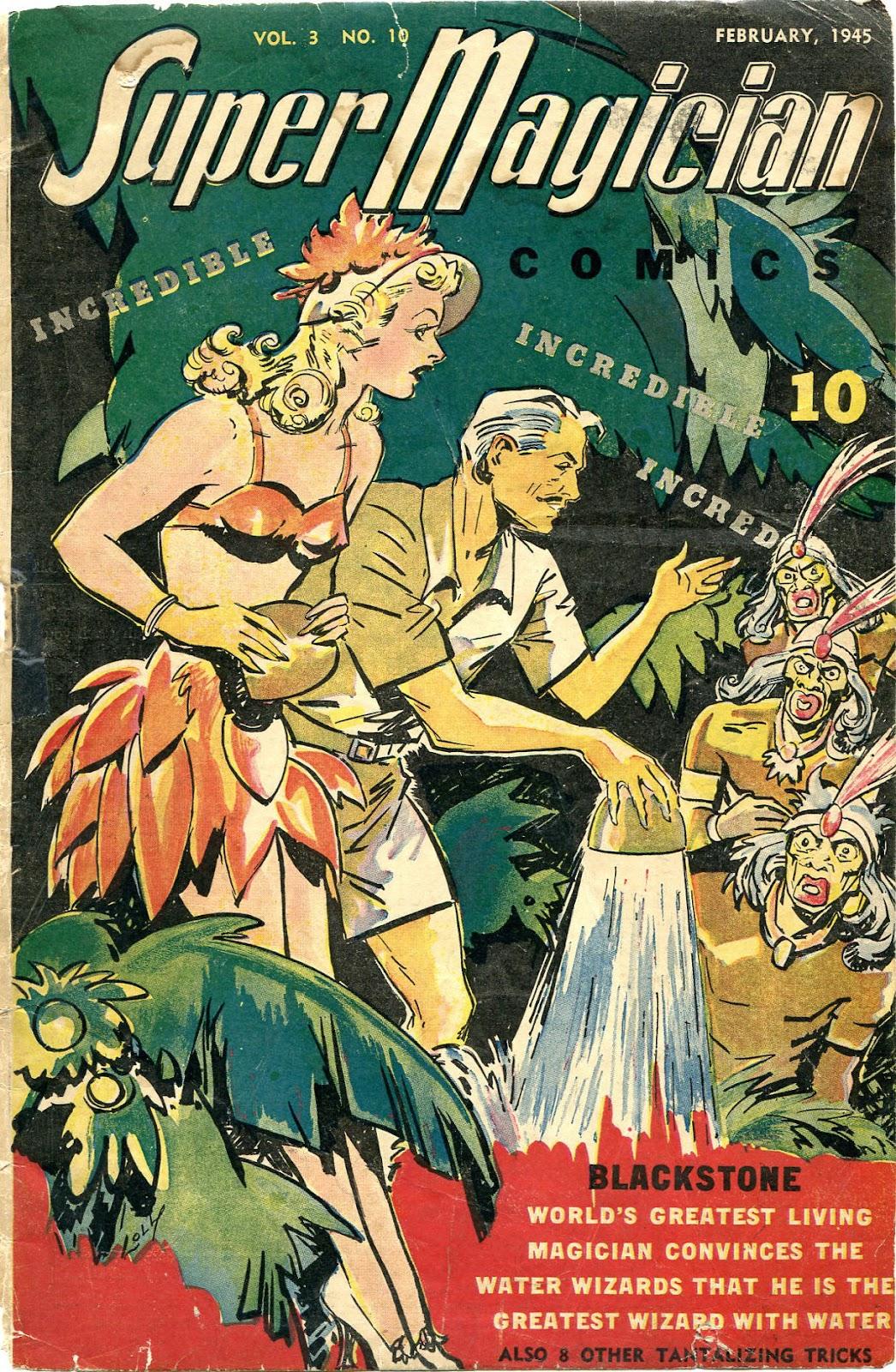 Read online Super-Magician Comics comic -  Issue #34 - 1