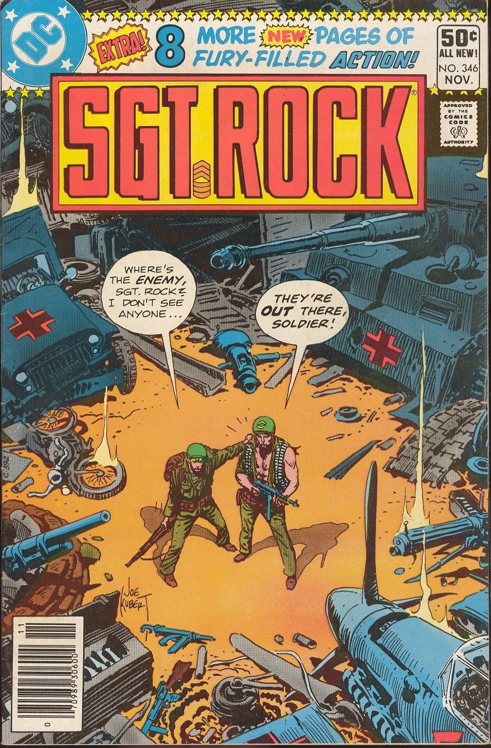 Read online Sgt. Rock comic -  Issue #346 - 1