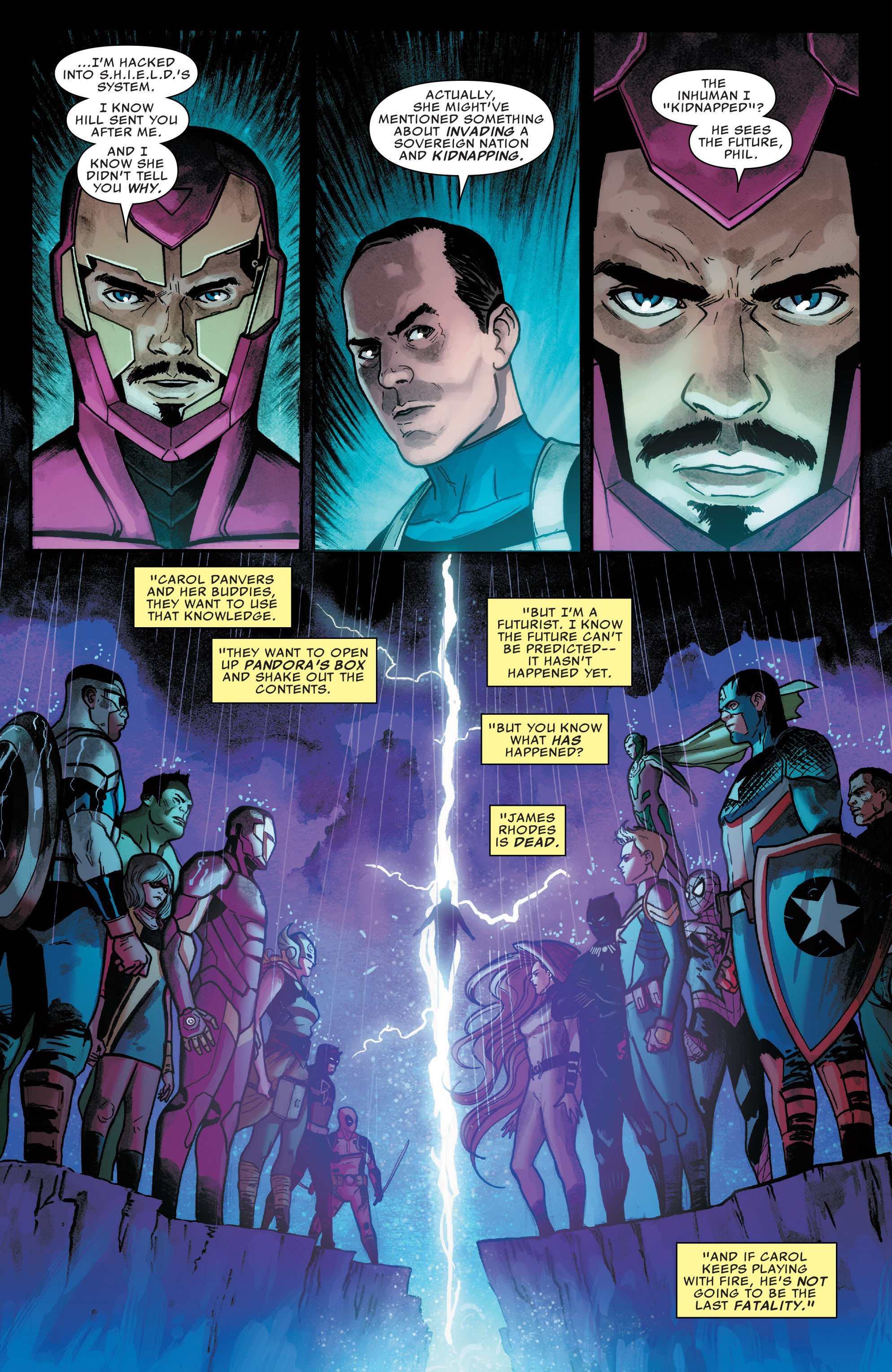 Read online Agents of S.H.I.E.L.D. comic -  Issue #7 - 15