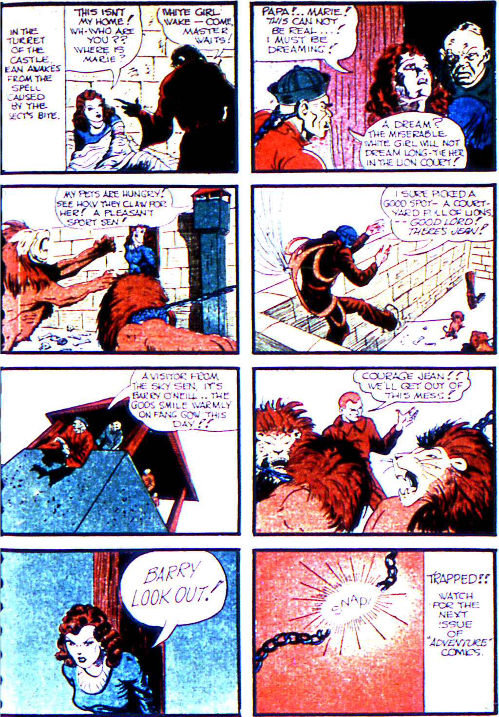Read online Adventure Comics (1938) comic -  Issue #45 - 19