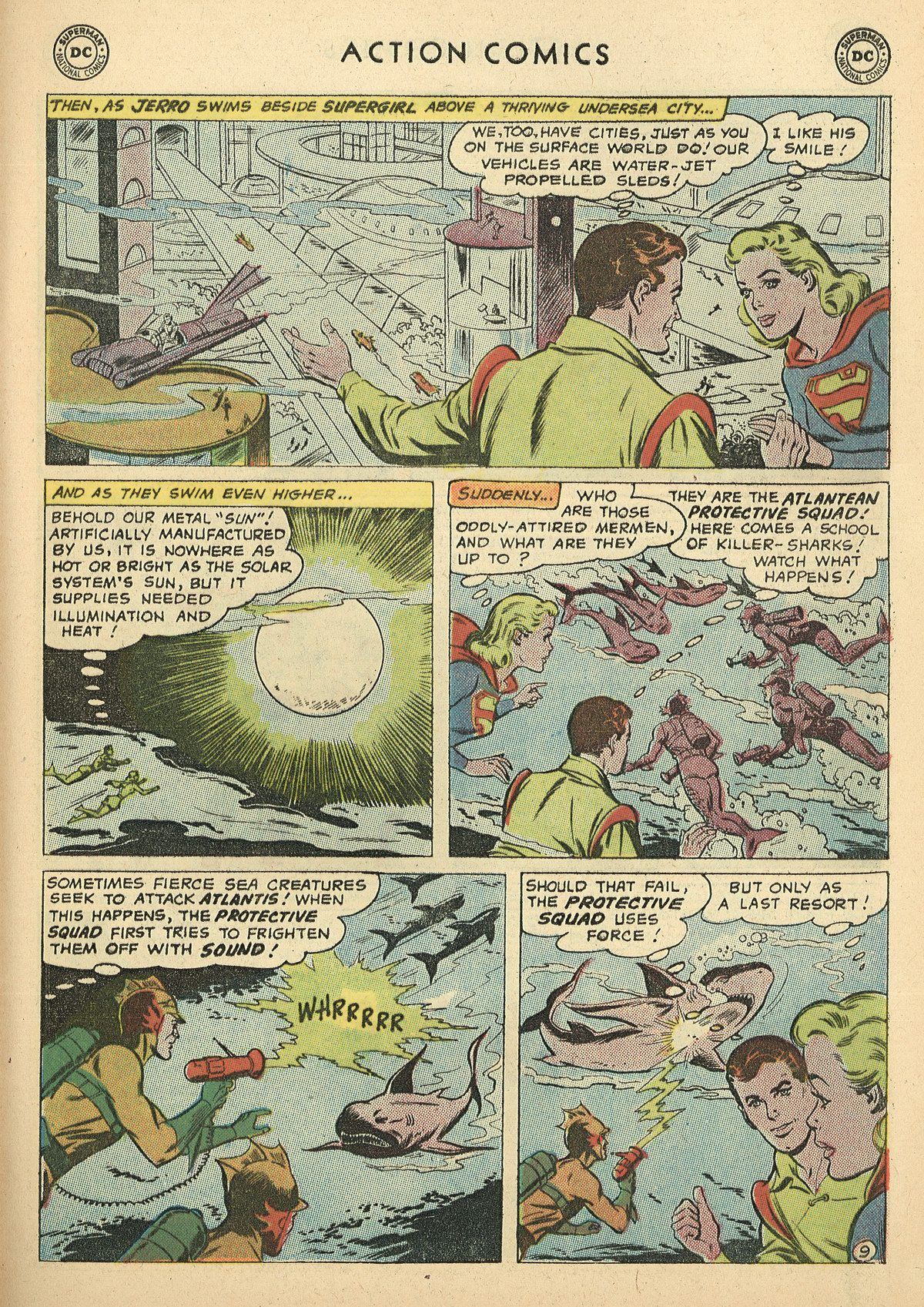 Read online Action Comics (1938) comic -  Issue #269 - 29