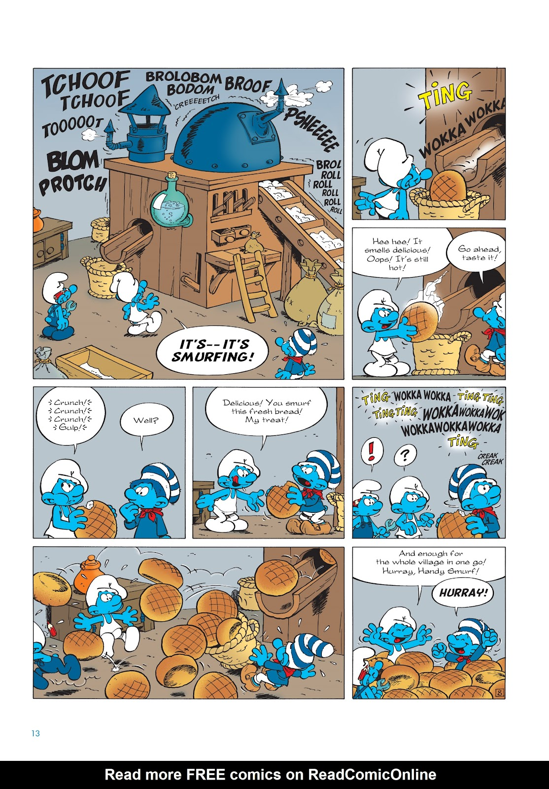 Read online The Smurfs comic -  Issue #23 - 13