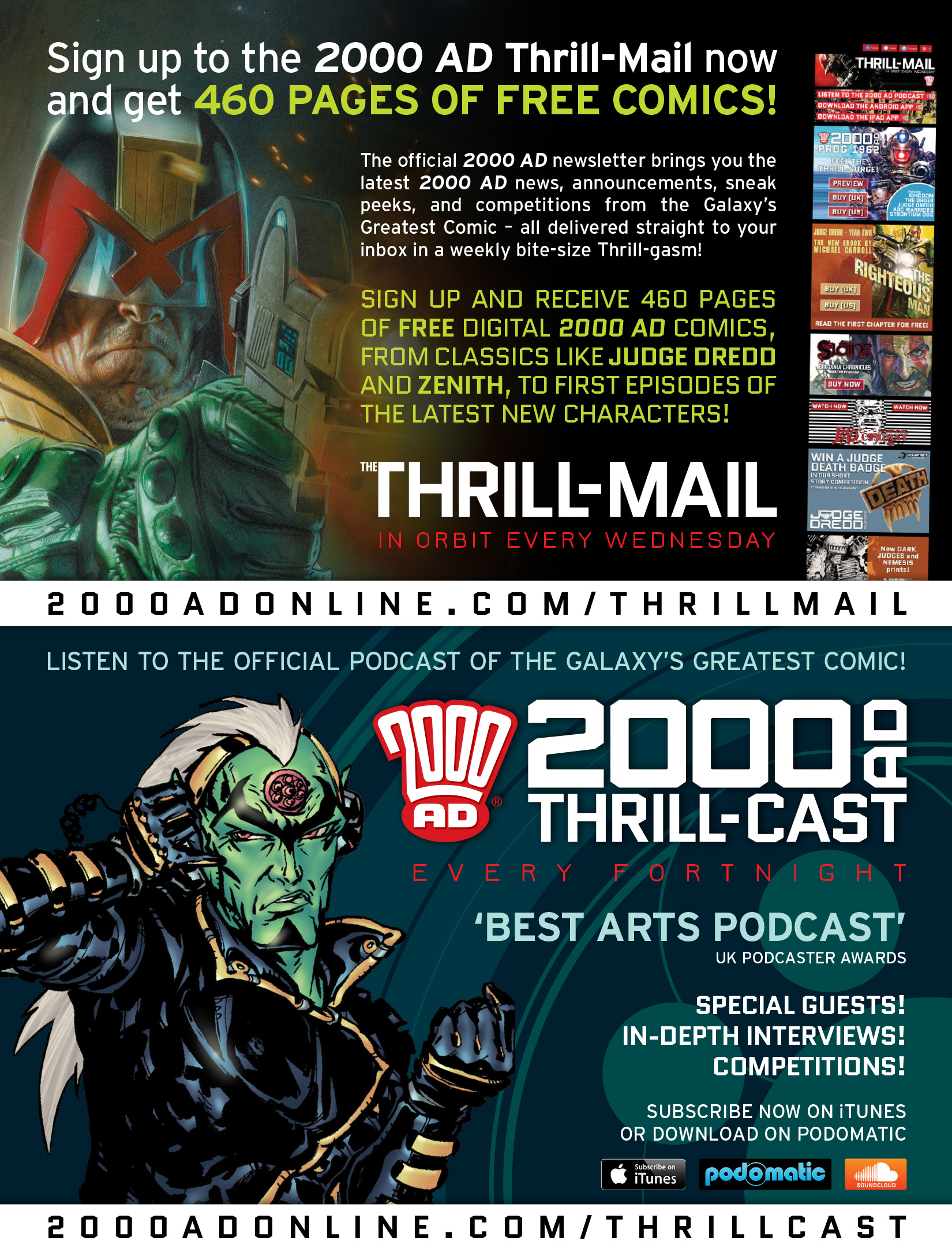 Read online 2000 AD comic -  Issue #1969 - 31