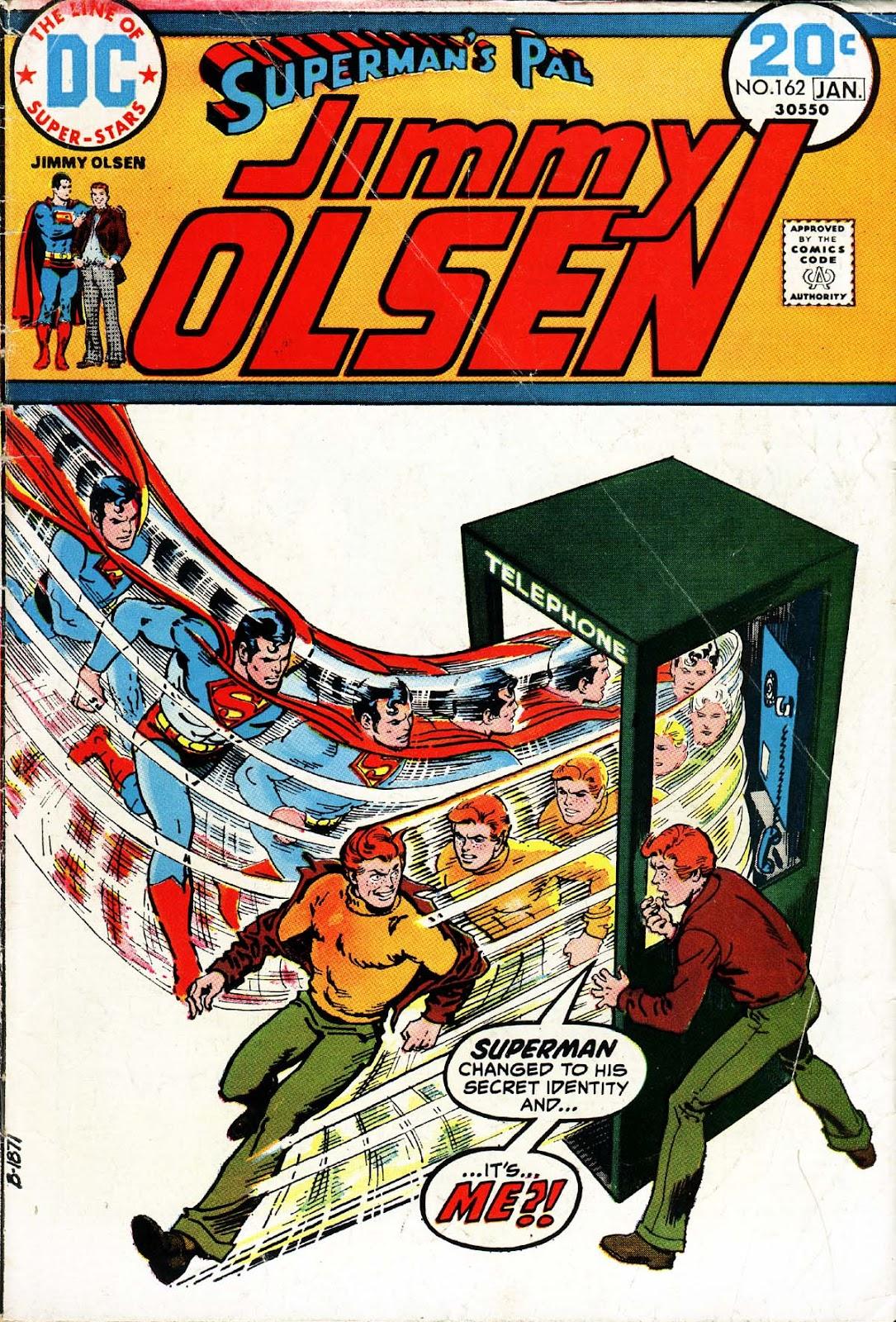Supermans Pal Jimmy Olsen (1954) 162 Page 1