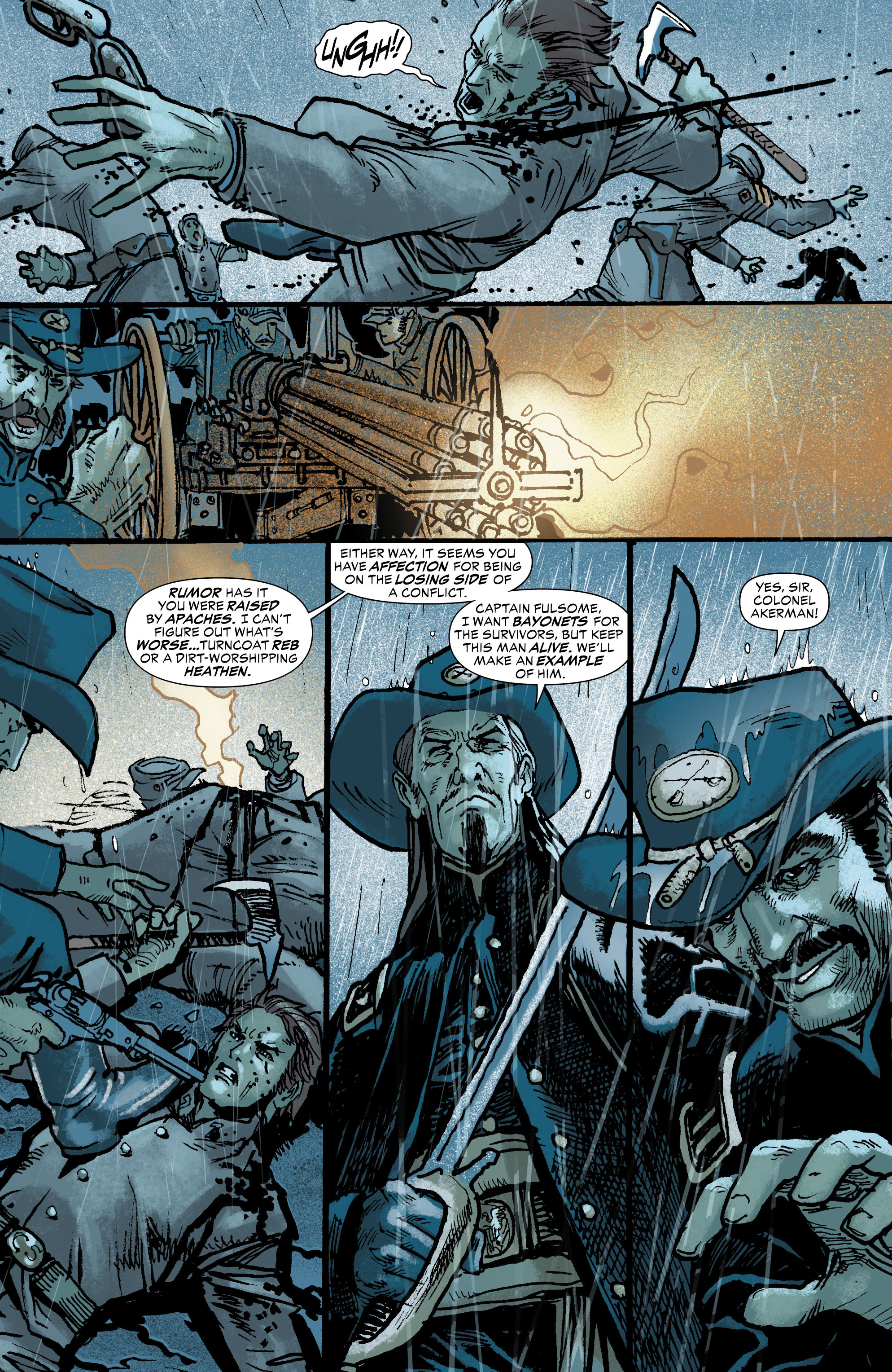 Read online All-Star Western (2011) comic -  Issue #0 - 19