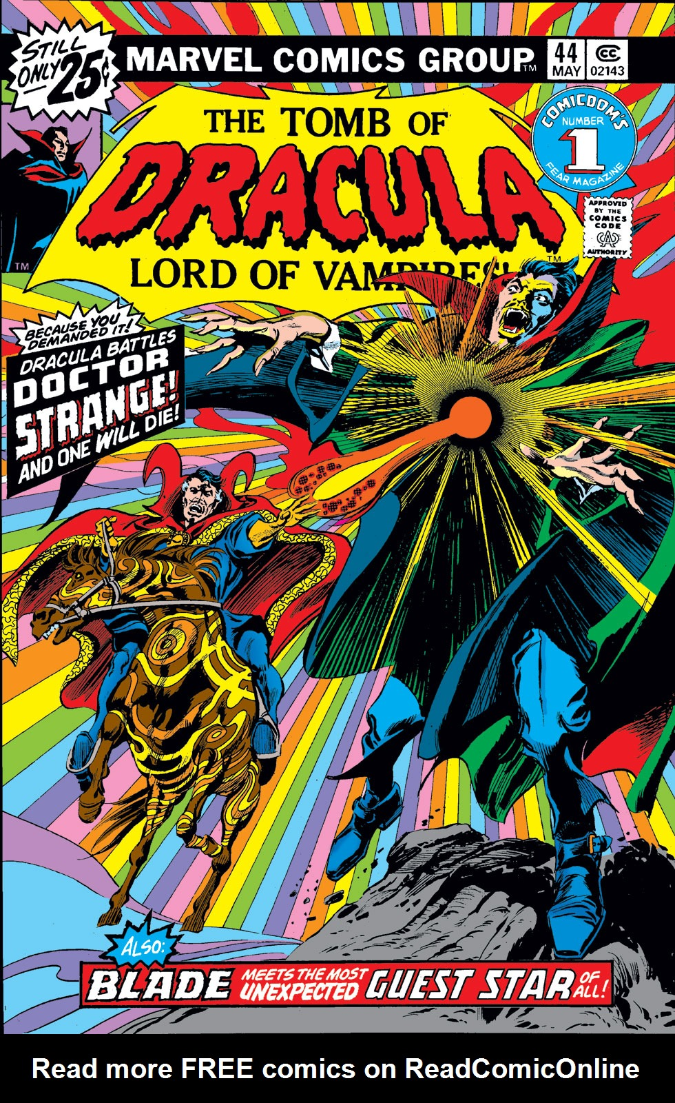 Tomb of Dracula (1972) issue 44 - Page 1