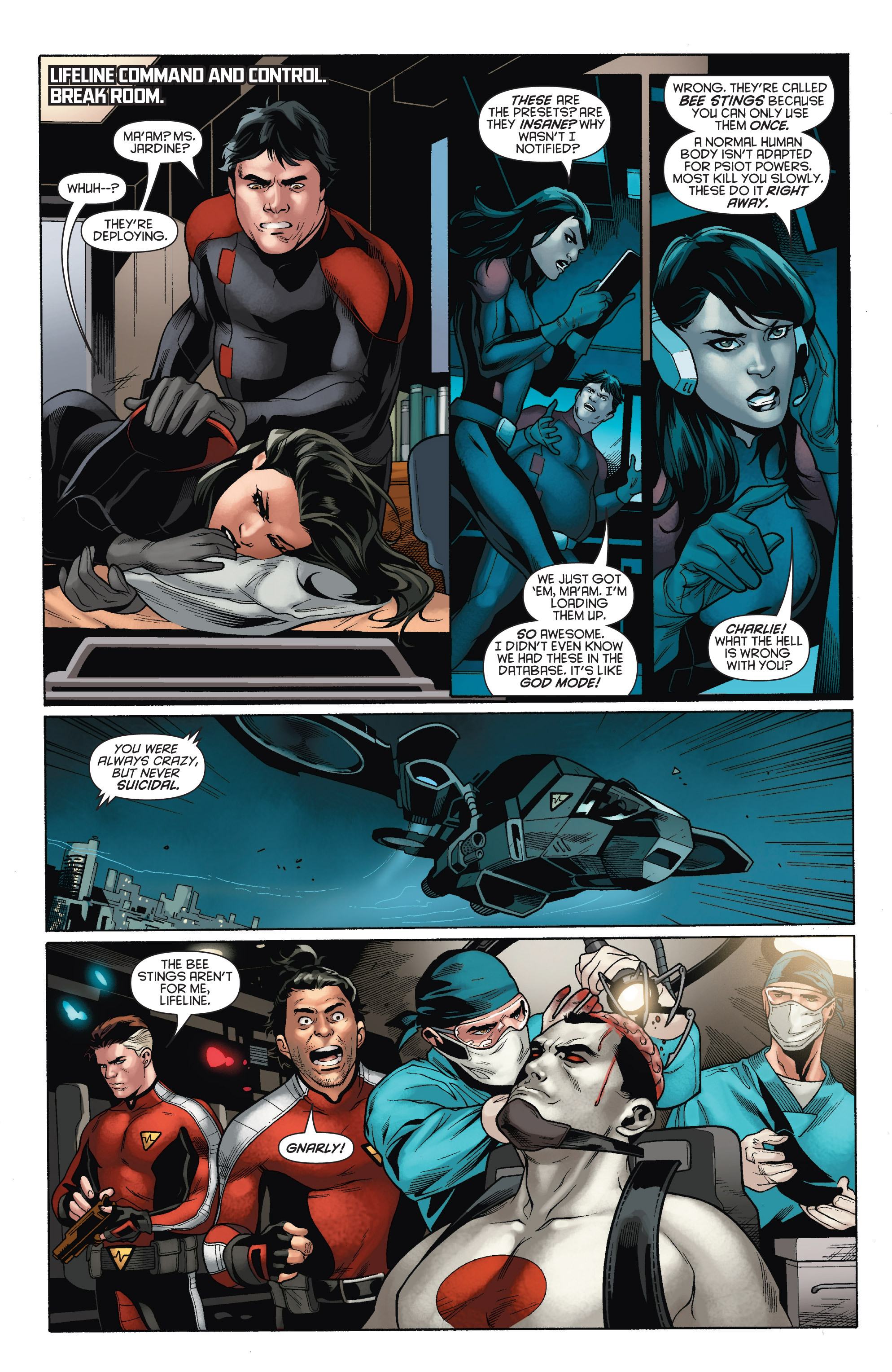 Read online Bloodshot and H.A.R.D.Corps comic -  Issue # TPB 4 - 62