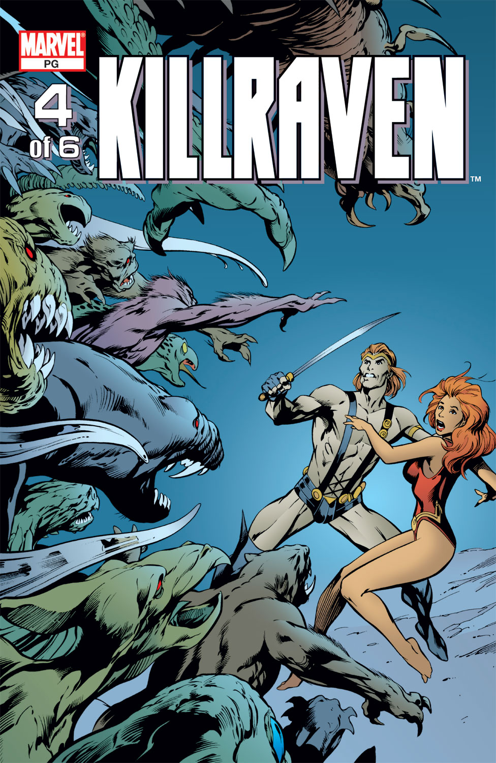 Killraven (2002) issue 4 - Page 1
