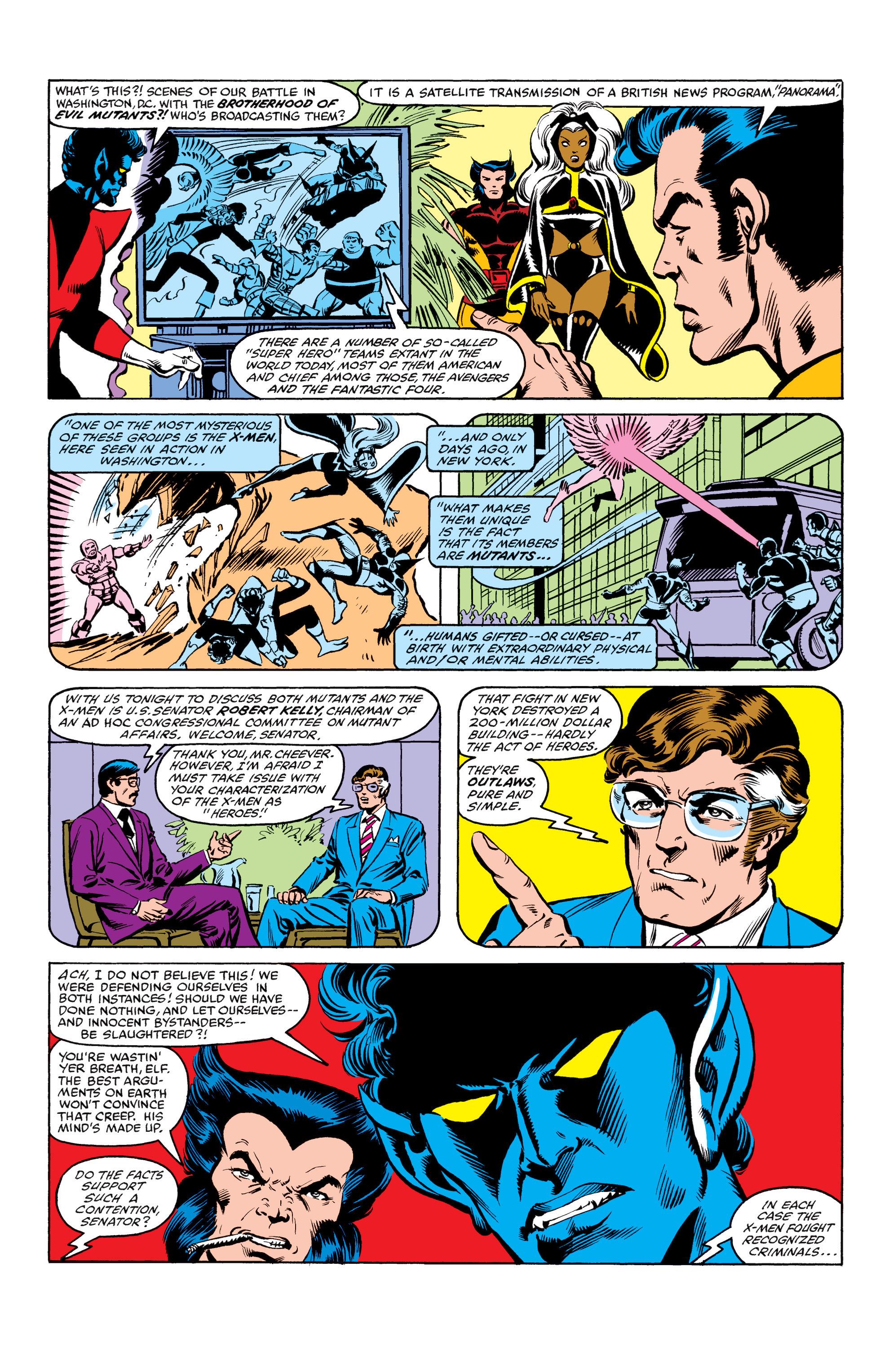 Read online Uncanny X-Men (1963) comic -  Issue #158 - 9