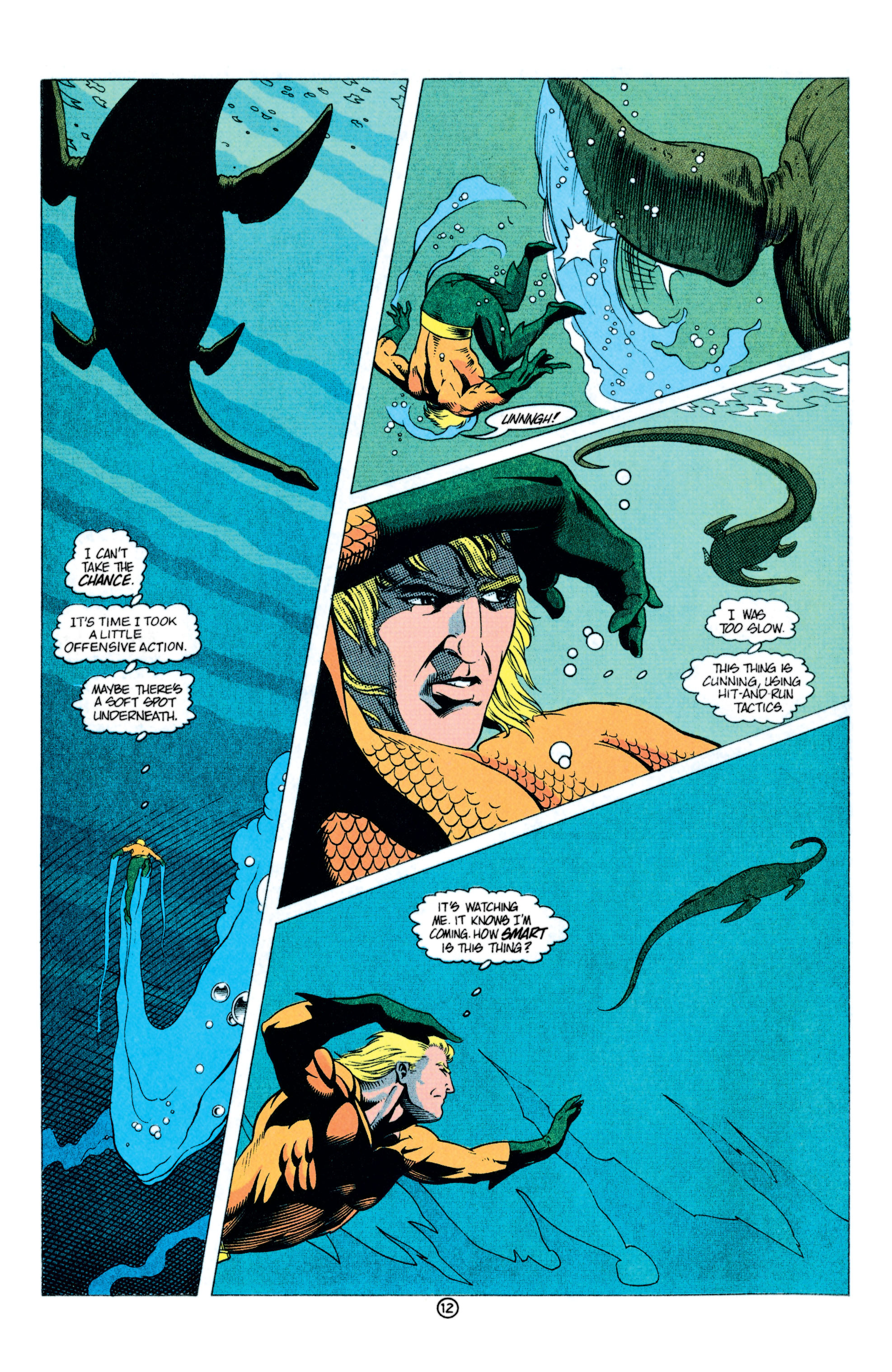 Read online Aquaman (1991) comic -  Issue #11 - 13