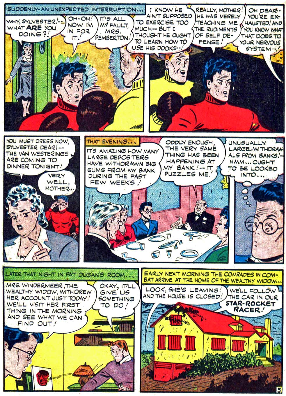 Star Spangled Comics (1941) issue 27 - Page 21