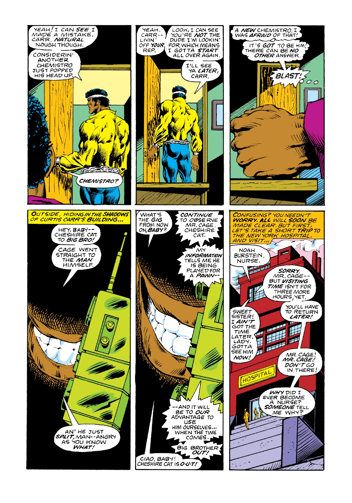 Read online Marvel Masterworks: Luke Cage, Power Man comic -  Issue # TPB 3 (Part 2) - 29