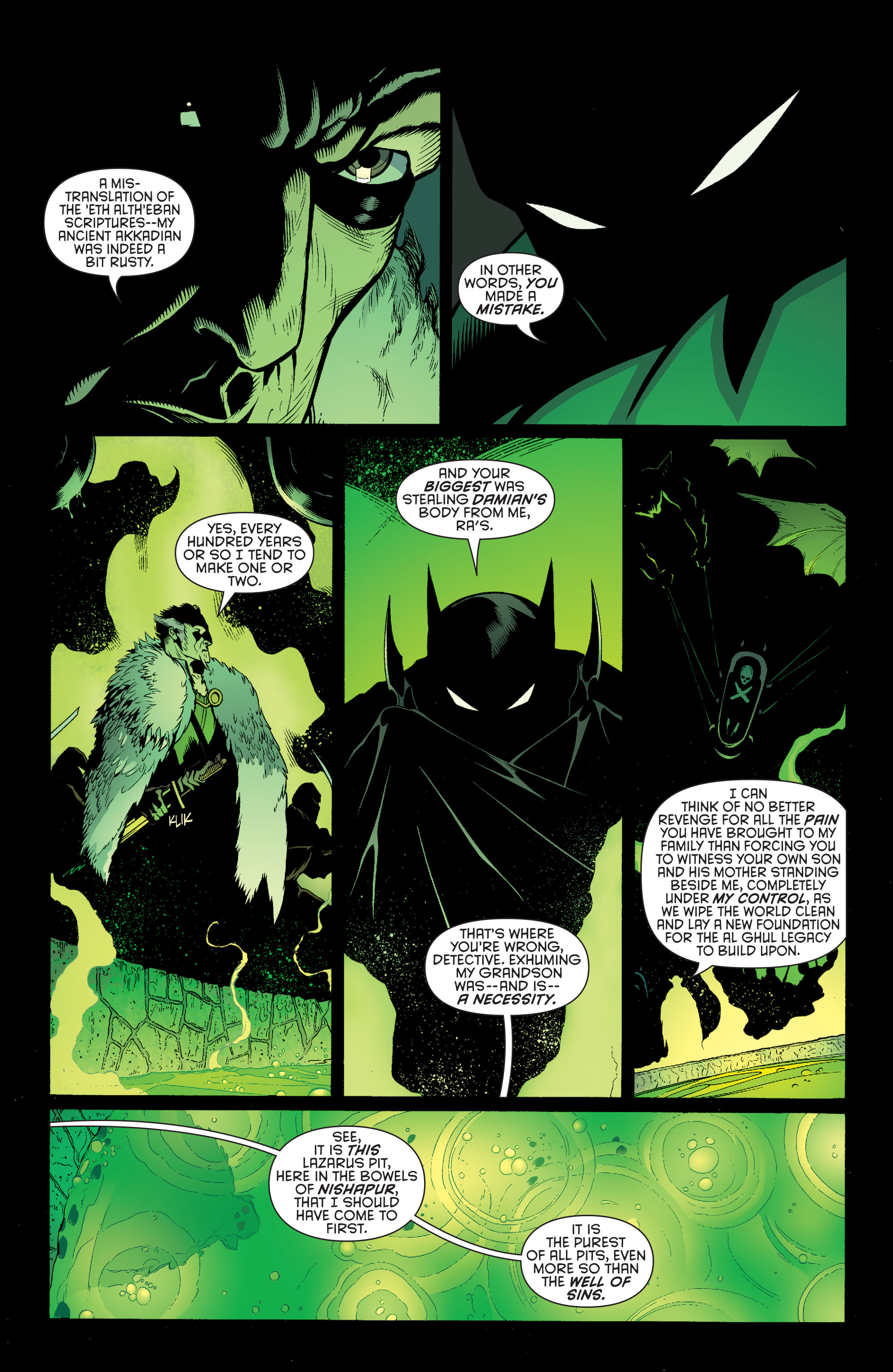 Read online Batman and Robin (2011) comic -  Issue #32 - Batman and Ra's al Ghul - 4