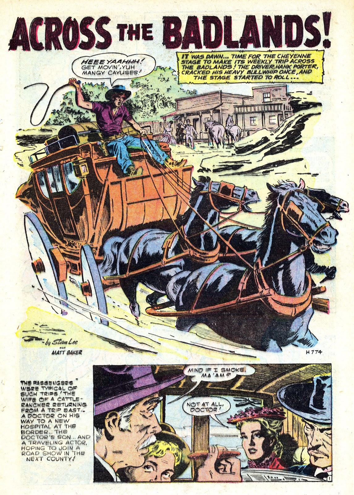 Gunsmoke Western issue 34 - Page 21