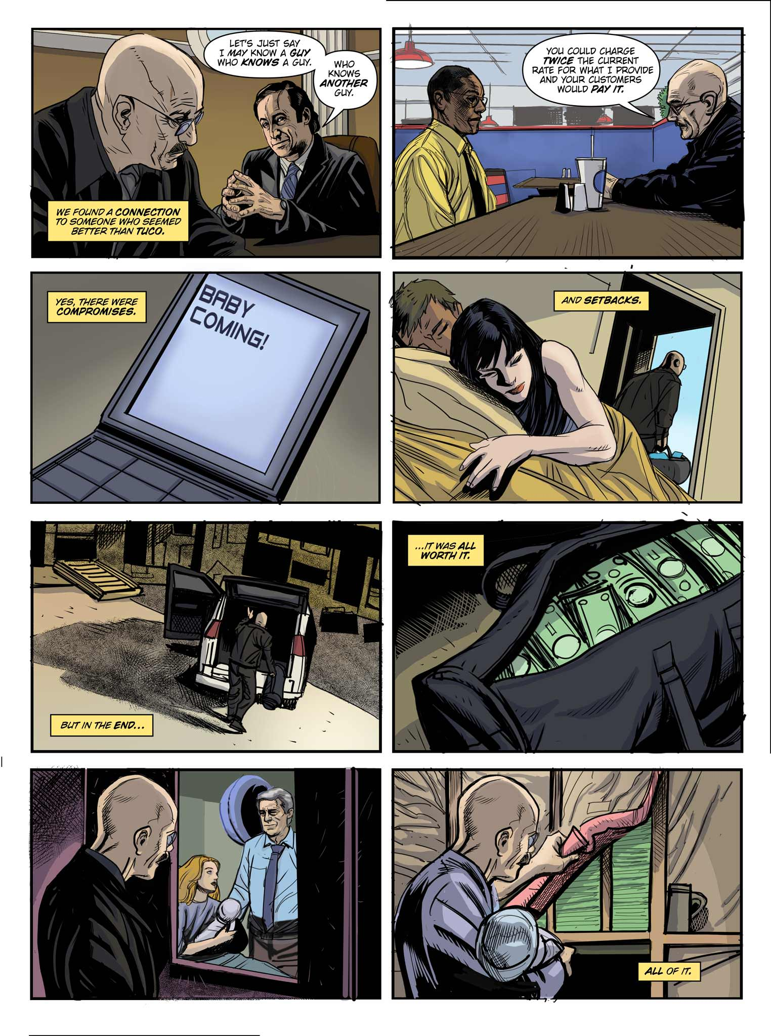 Read online Breaking Bad: All Bad Things comic -  Issue # Full - 8
