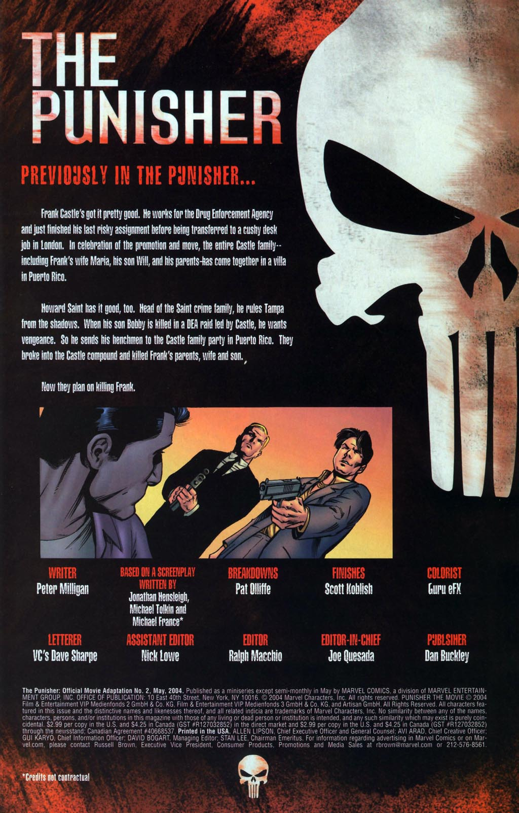 The Punisher: Official Movie Adaptation 2 Page 2