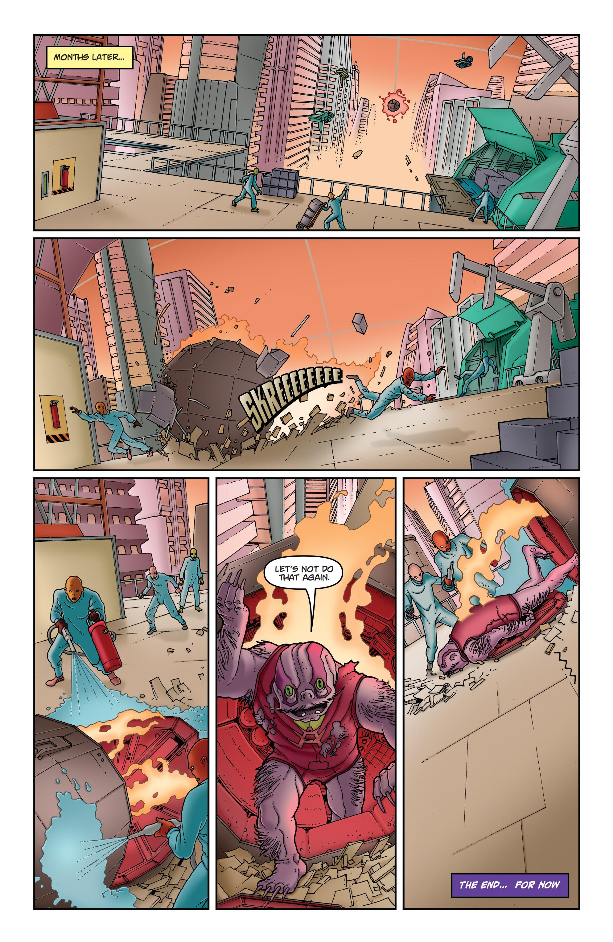 Read online Satellite Falling comic -  Issue #5 - 22