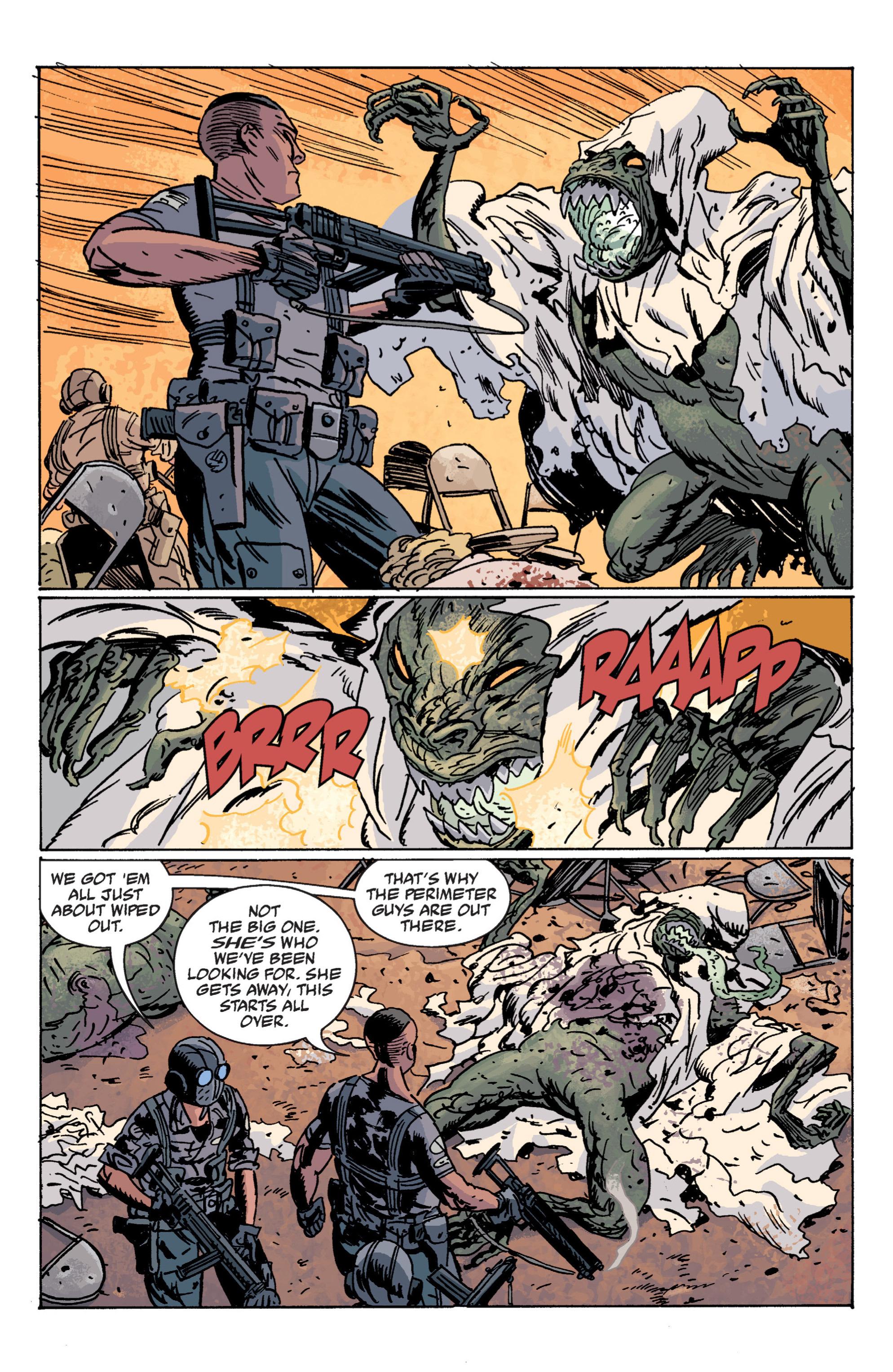 Read online B.P.R.D. (2003) comic -  Issue # TPB 12 - 54