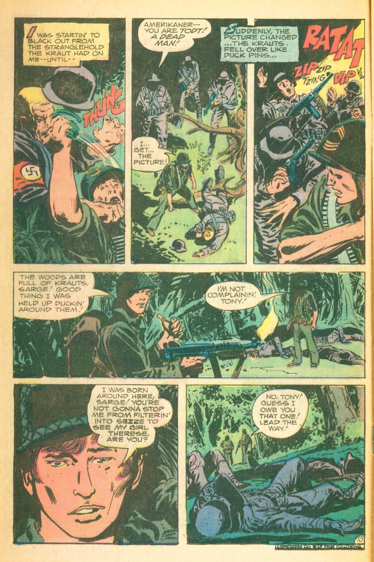 Read online Sgt. Rock comic -  Issue #302 - 16