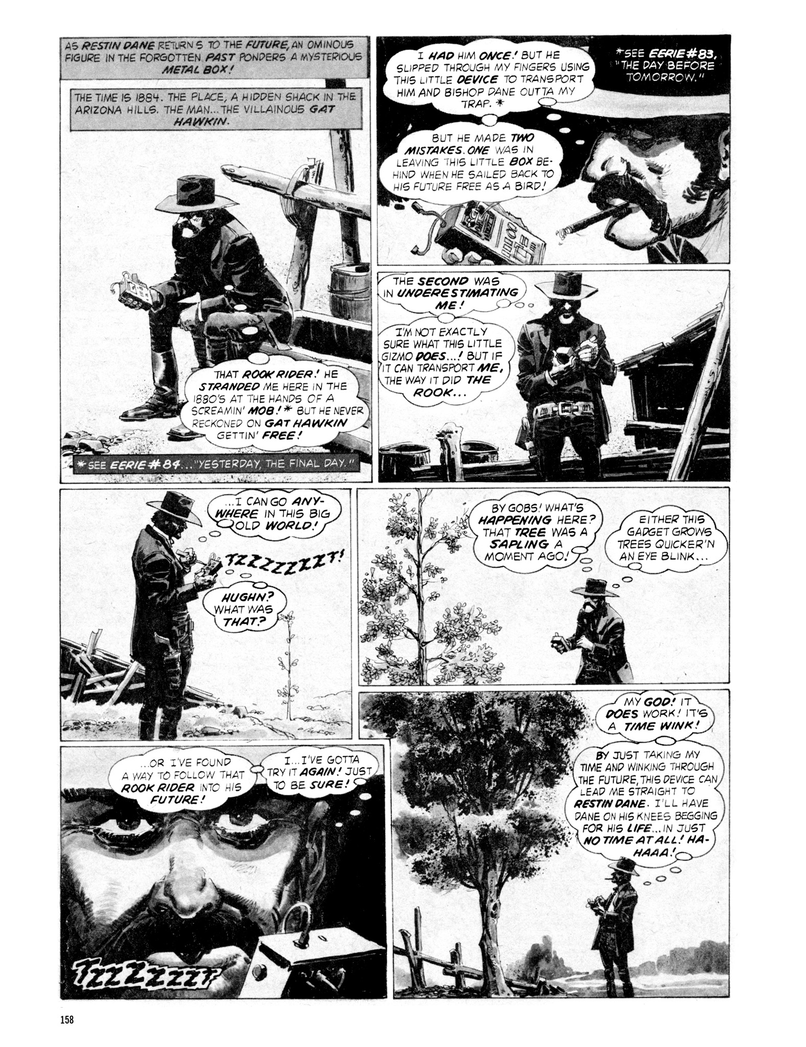 Read online Eerie Archives comic -  Issue # TPB 18 - 155