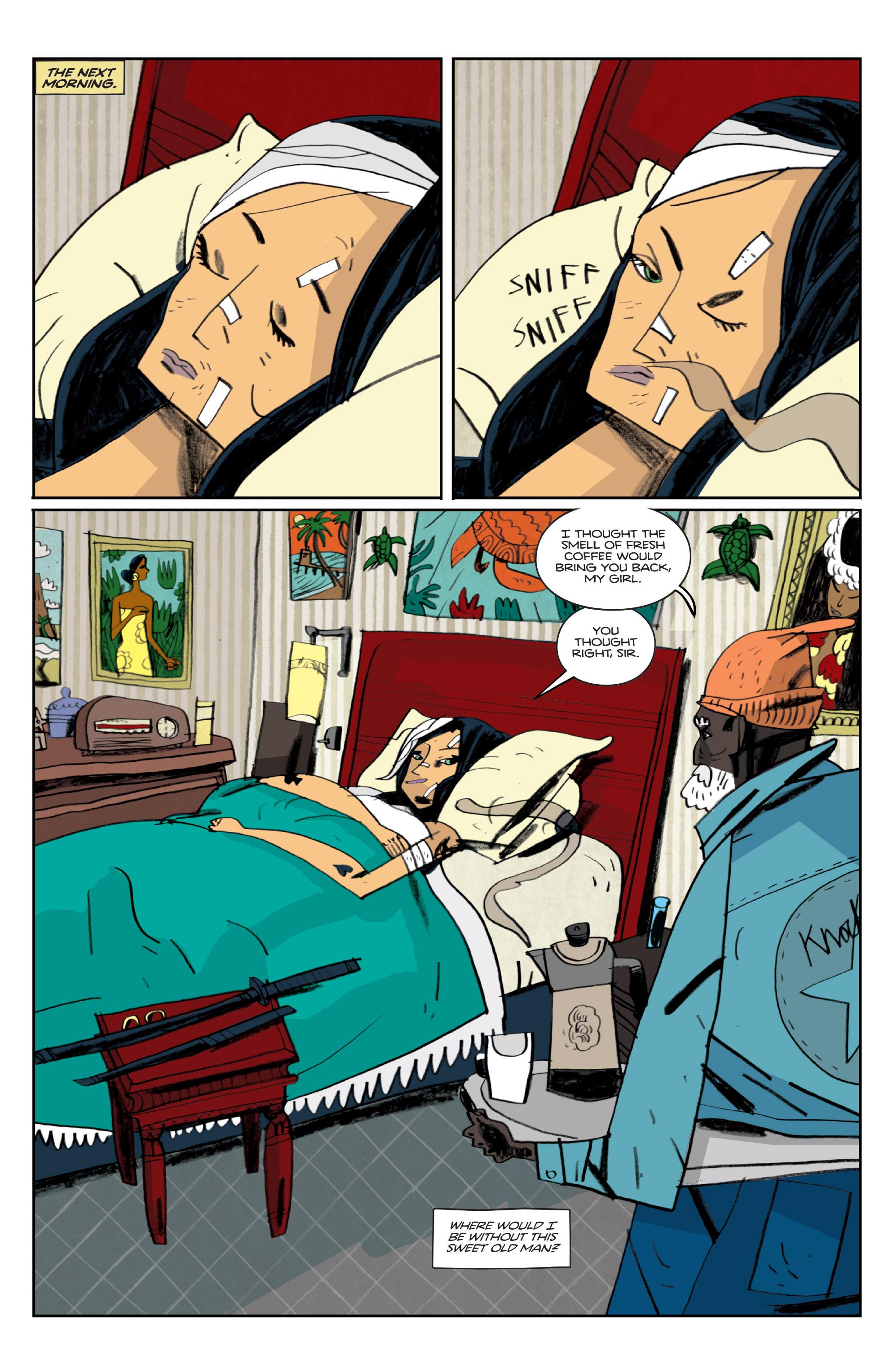 Read online Helena Crash comic -  Issue #3 - 14