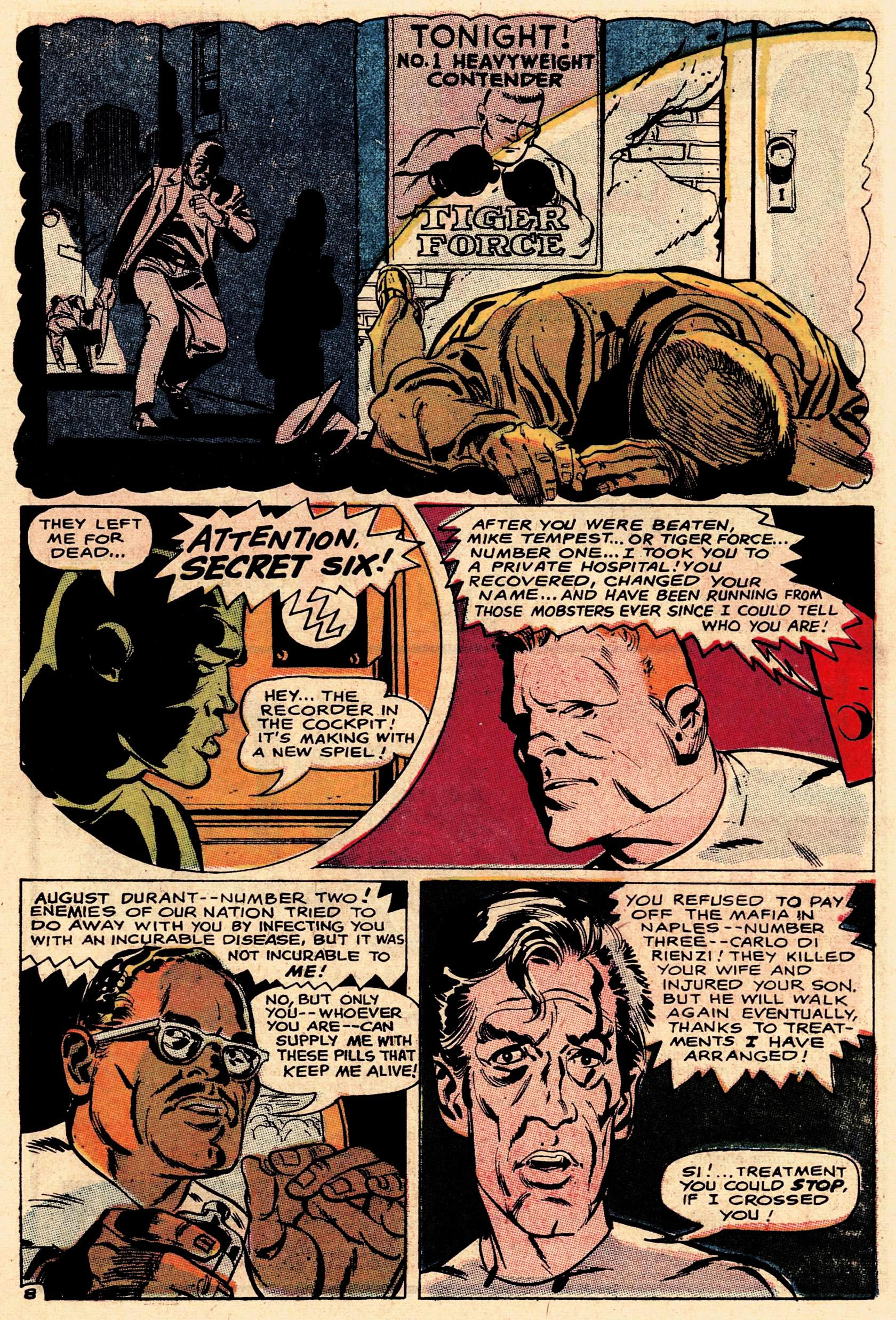 Read online Secret Six (1968) comic -  Issue #1 - 11