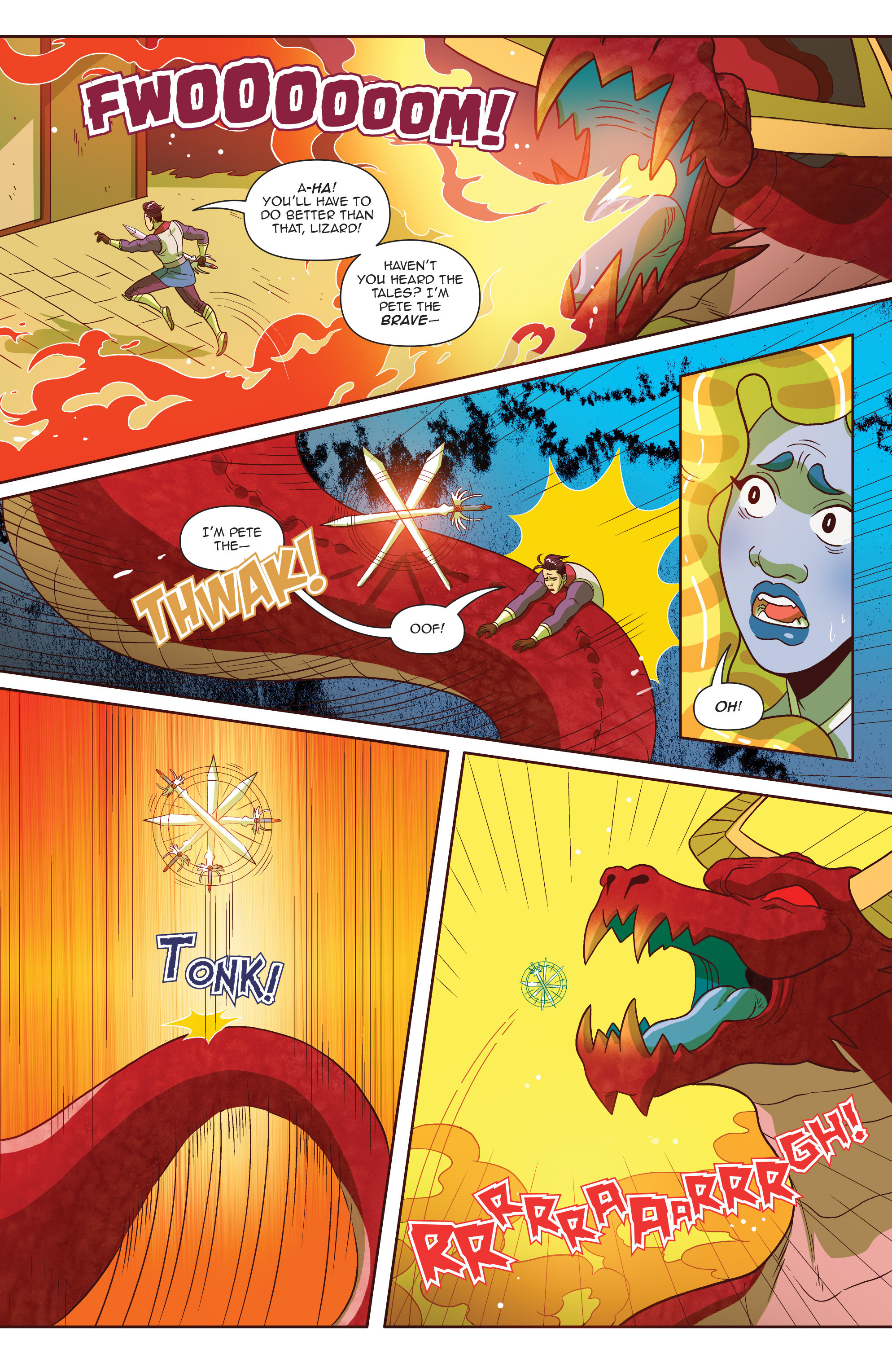 Read online Another Castle comic -  Issue #4 - 22