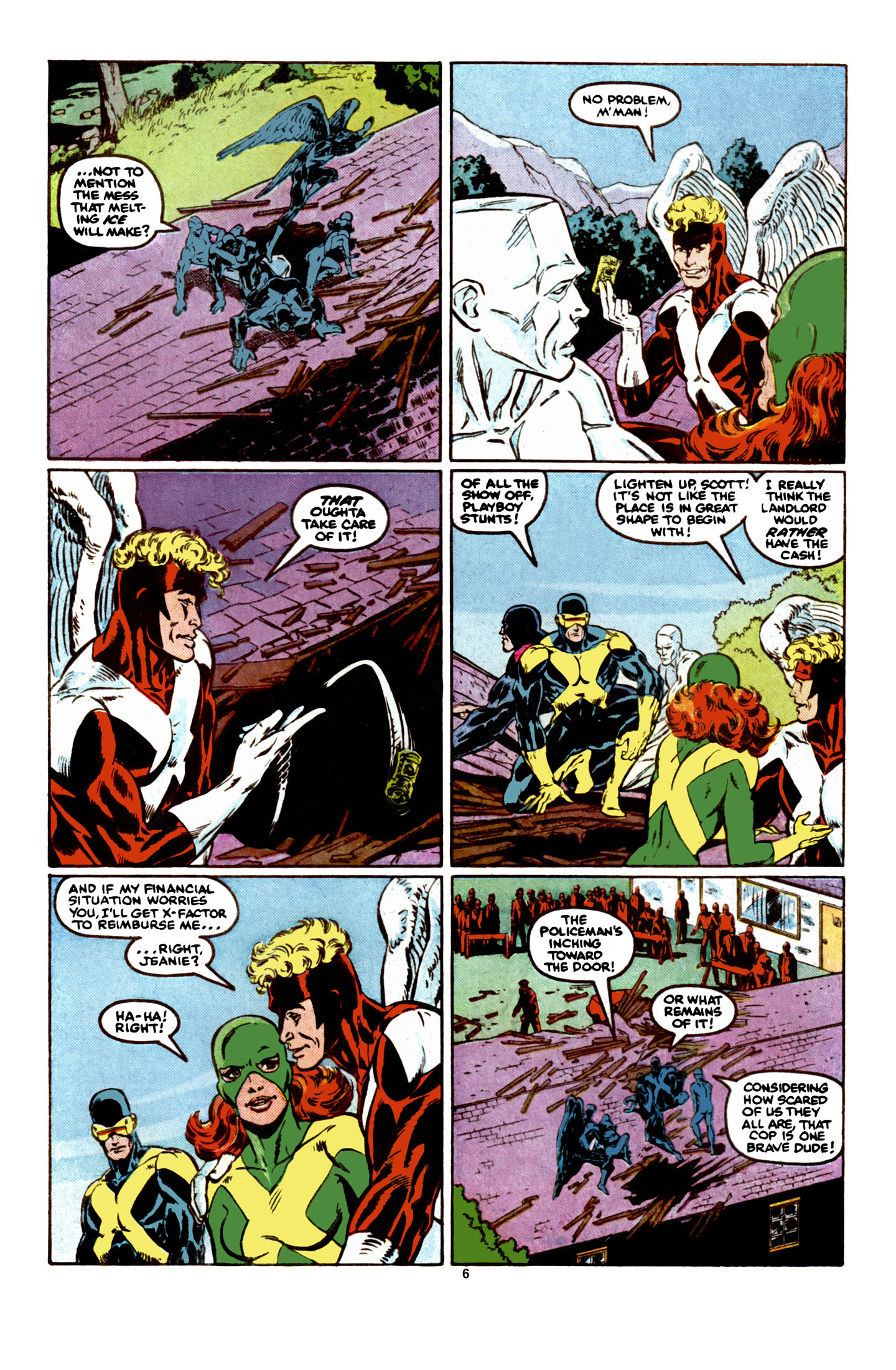 Read online X-Factor (1986) comic -  Issue #6 - 7