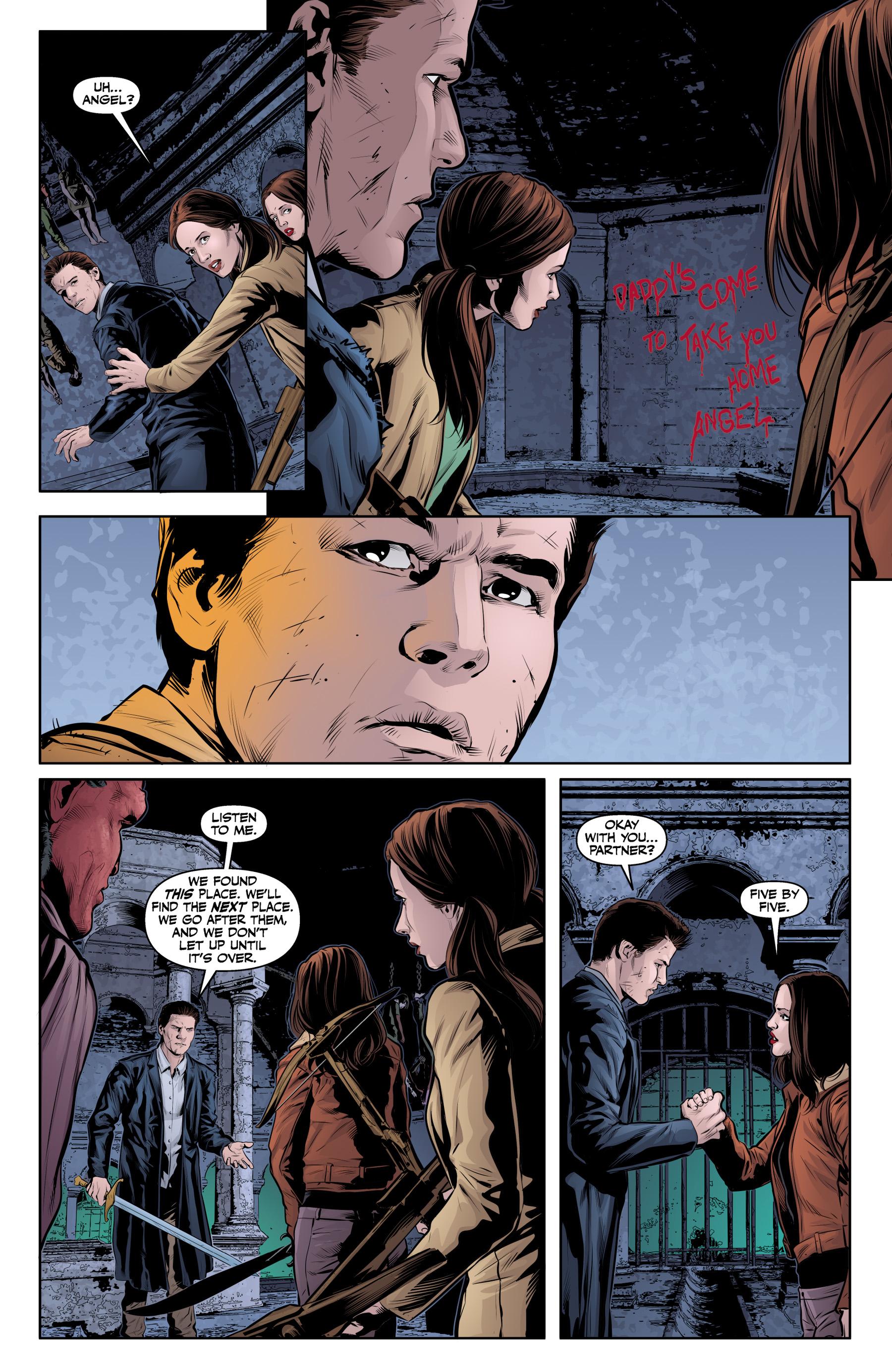 Read online Angel & Faith Season 10 comic -  Issue #20 - 23