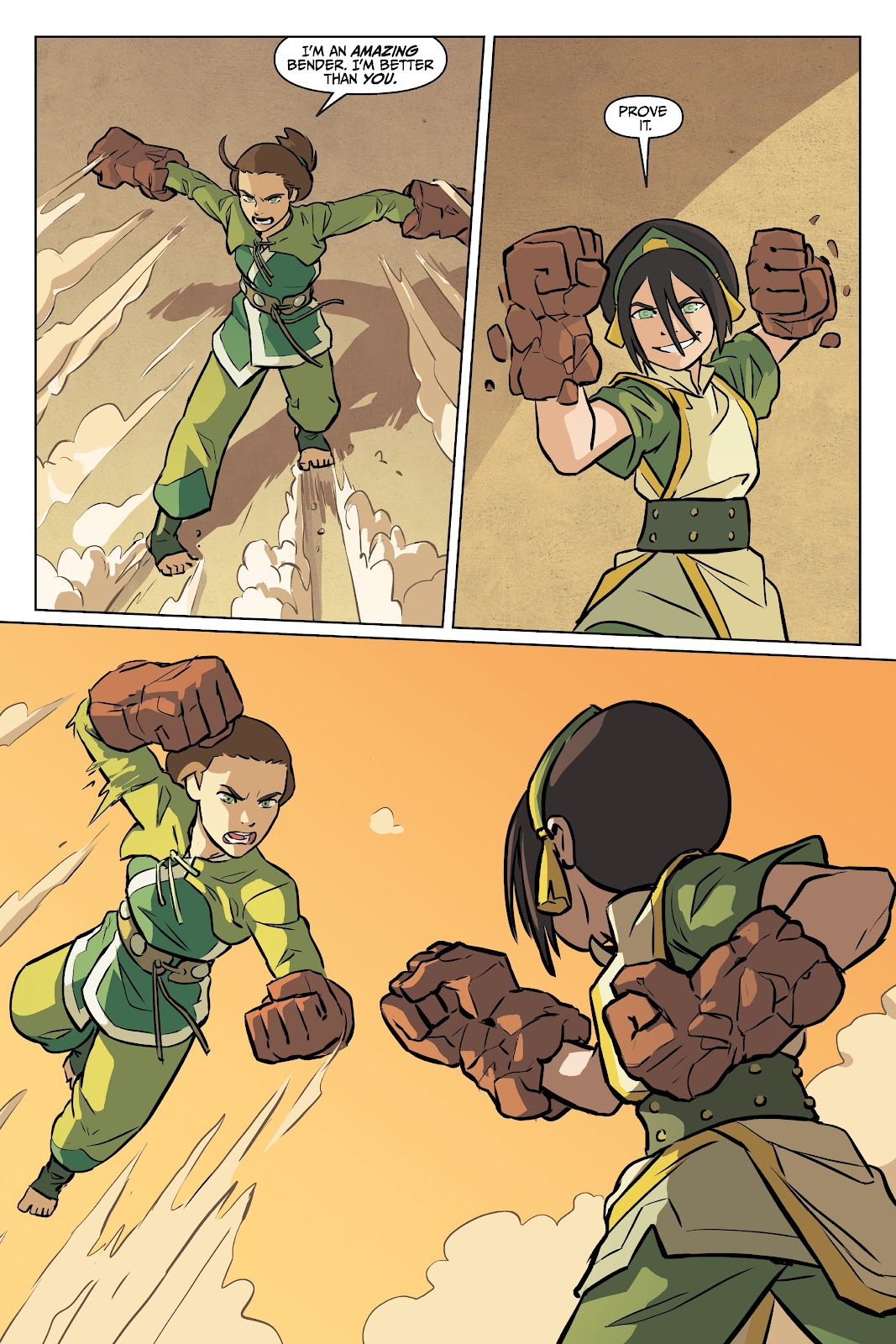 Read online Nickelodeon Avatar: The Last Airbender - Imbalance comic -  Issue # TPB 2 - 61