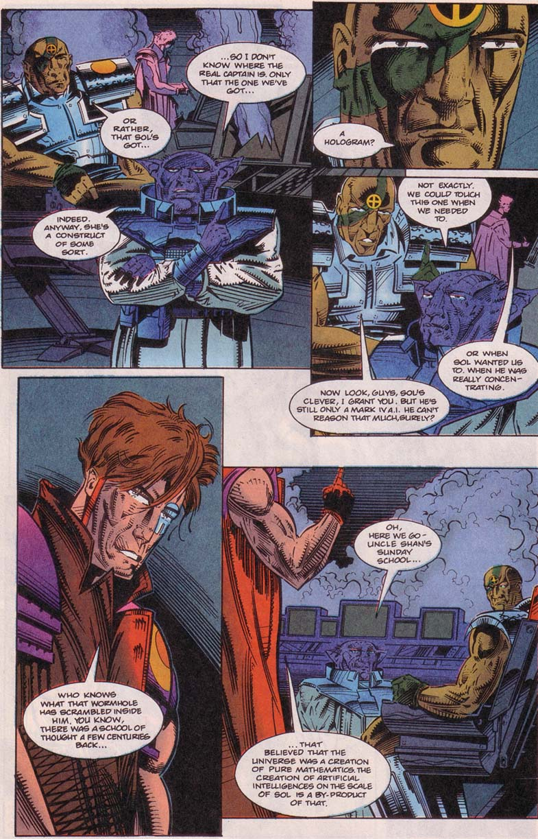 Read online Cyberspace 3000 comic -  Issue #5 - 8