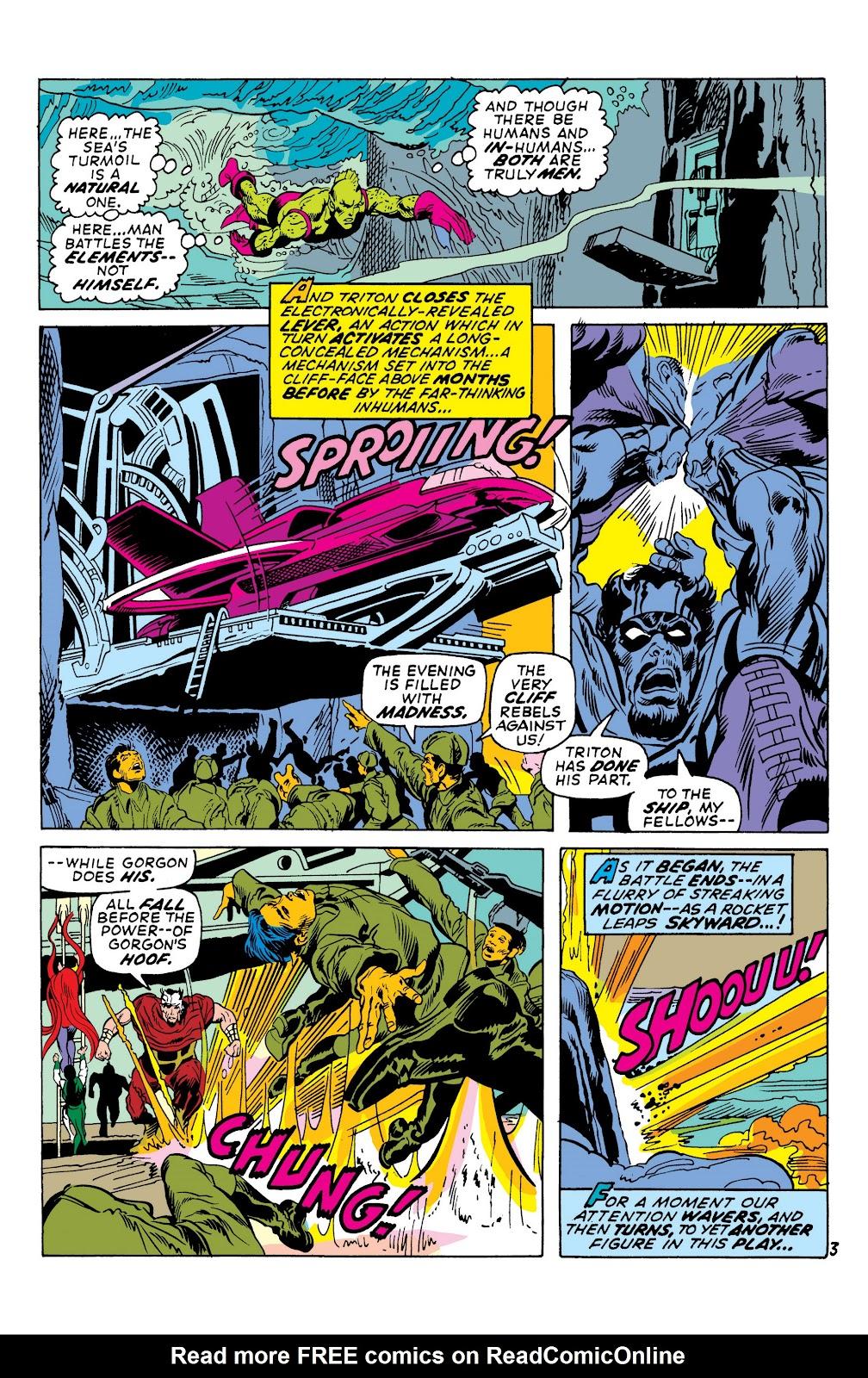 Read online Marvel Masterworks: The Inhumans comic -  Issue # TPB 1 (Part 2) - 38