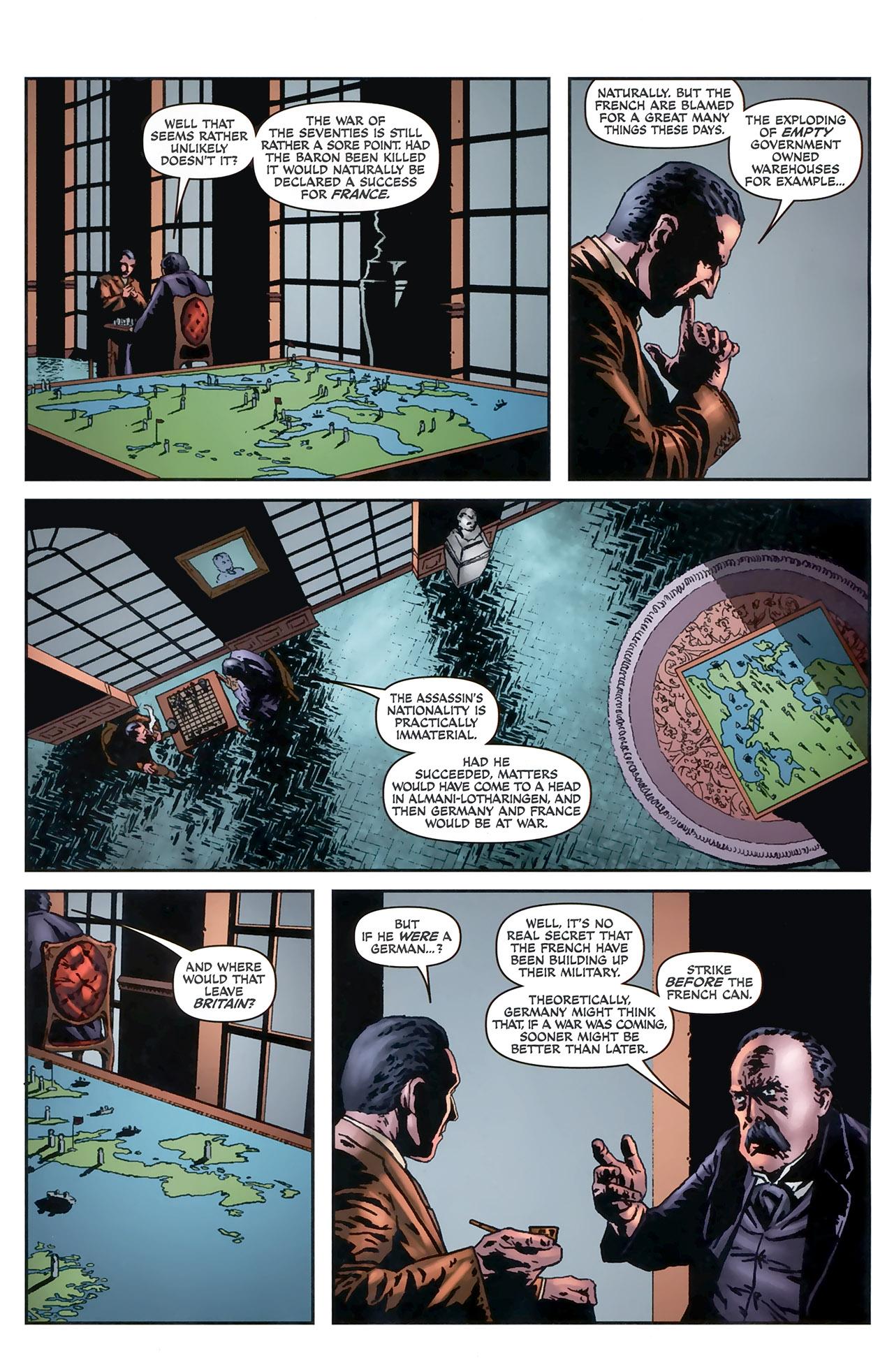 Read online Sherlock Holmes (2009) comic -  Issue #5 - 23