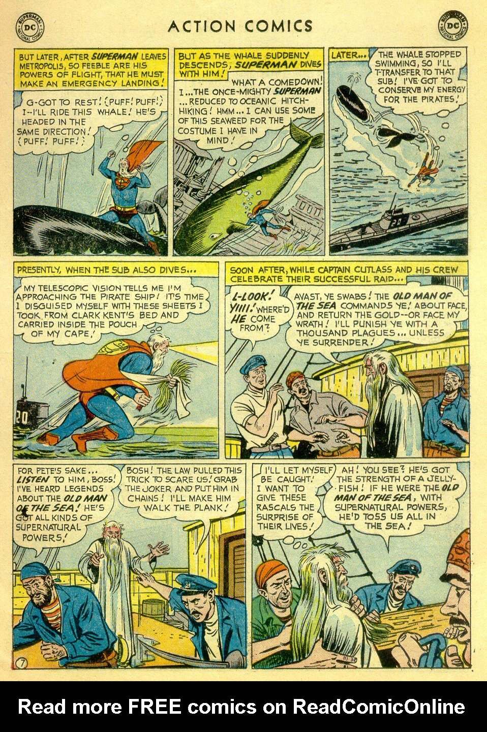 Read online Action Comics (1938) comic -  Issue #251 - 9