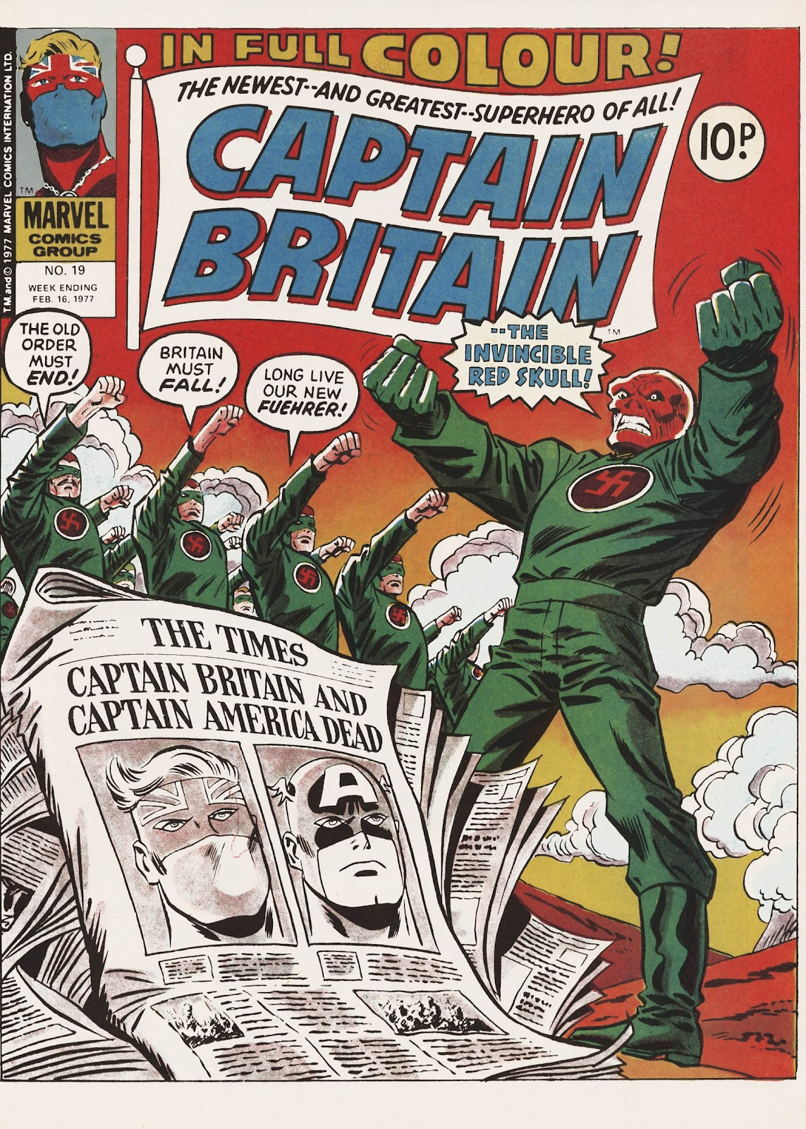 Captain Britain (1976) issue 19 - Page 1